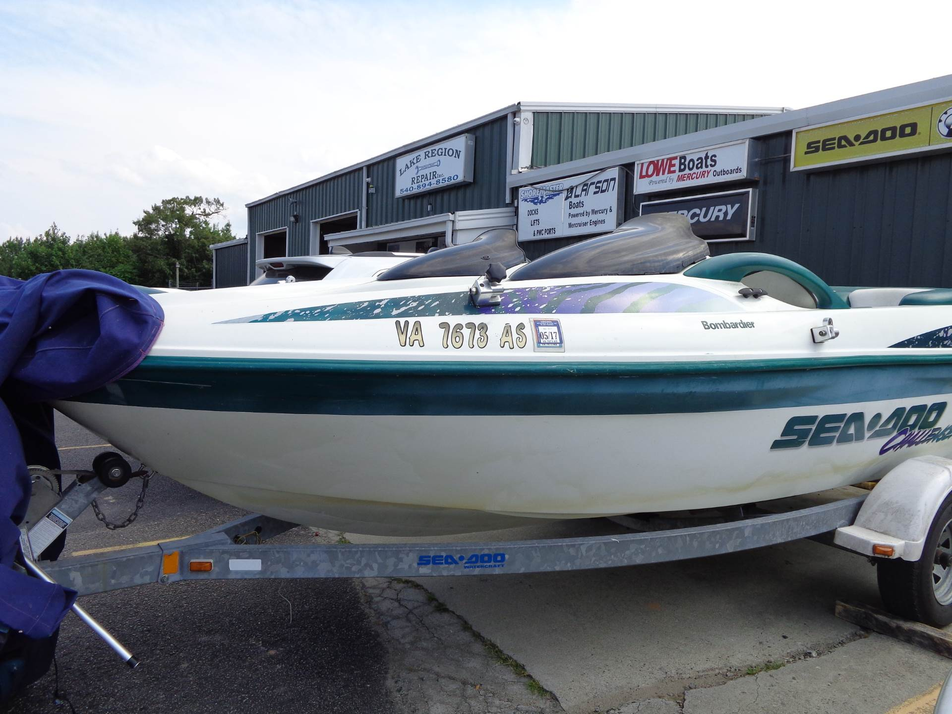 1998 Sea-Doo Challenger 1800 in Mineral, Virginia