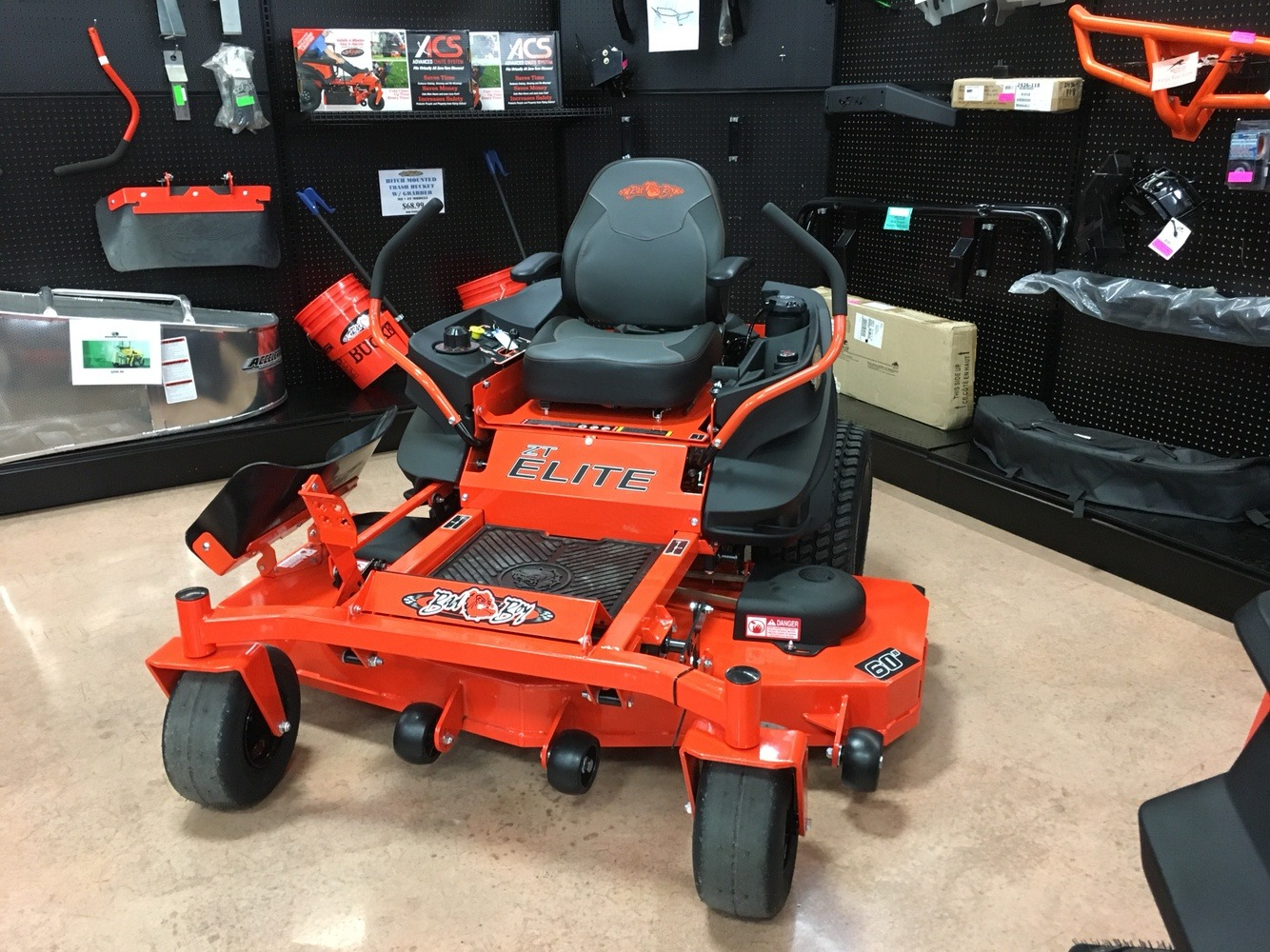 2019 Bad Boy Mowers ZT Elite 60 in. Kawasaki FR730 726 cc in Evansville, Indiana - Photo 1