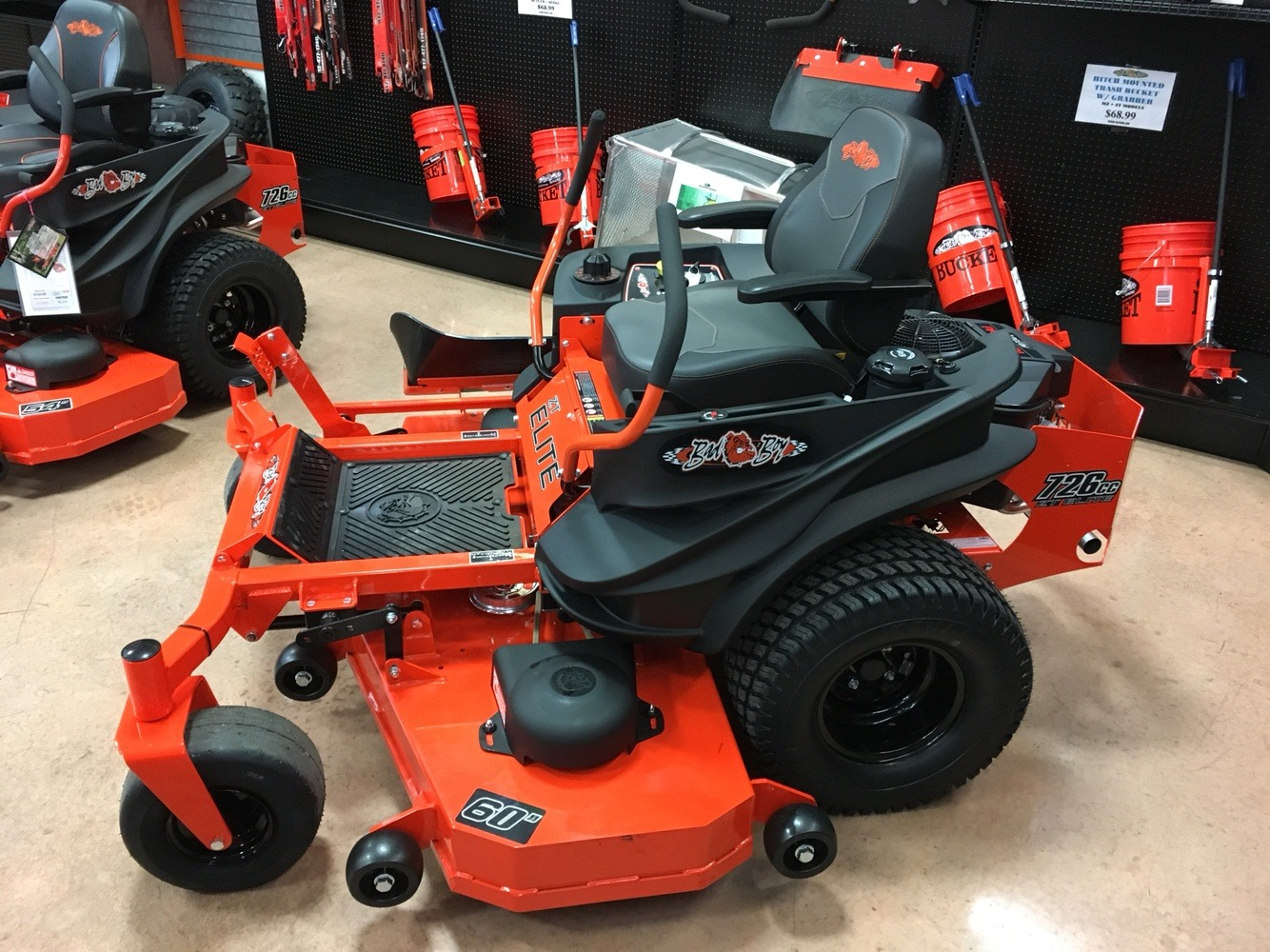 2019 Bad Boy Mowers ZT Elite 60 in. Kawasaki FR730 726 cc in Evansville, Indiana - Photo 3