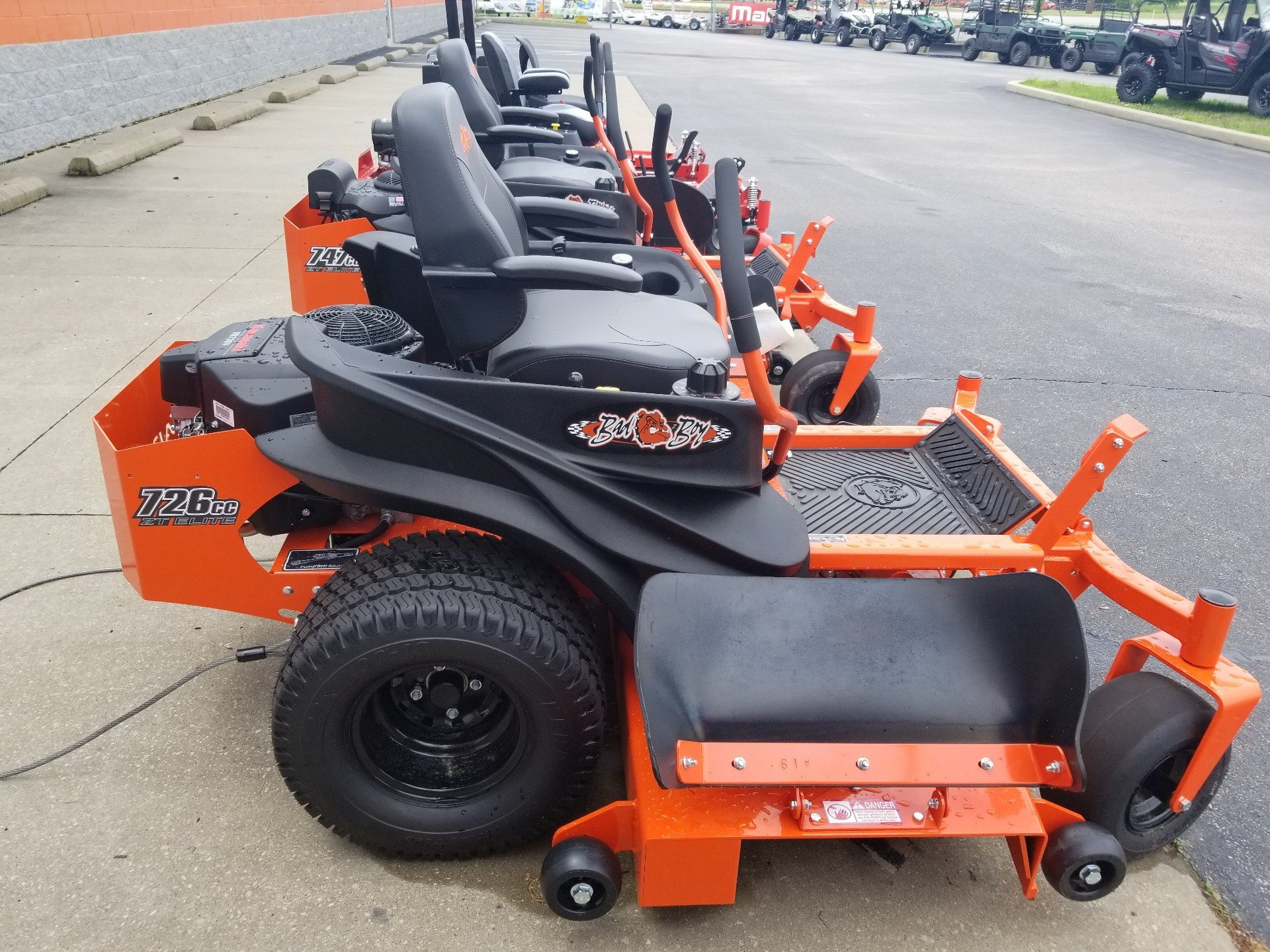 2019 Bad Boy Mowers 6000 Kawasaki ZT Elite in Evansville, Indiana - Photo 4