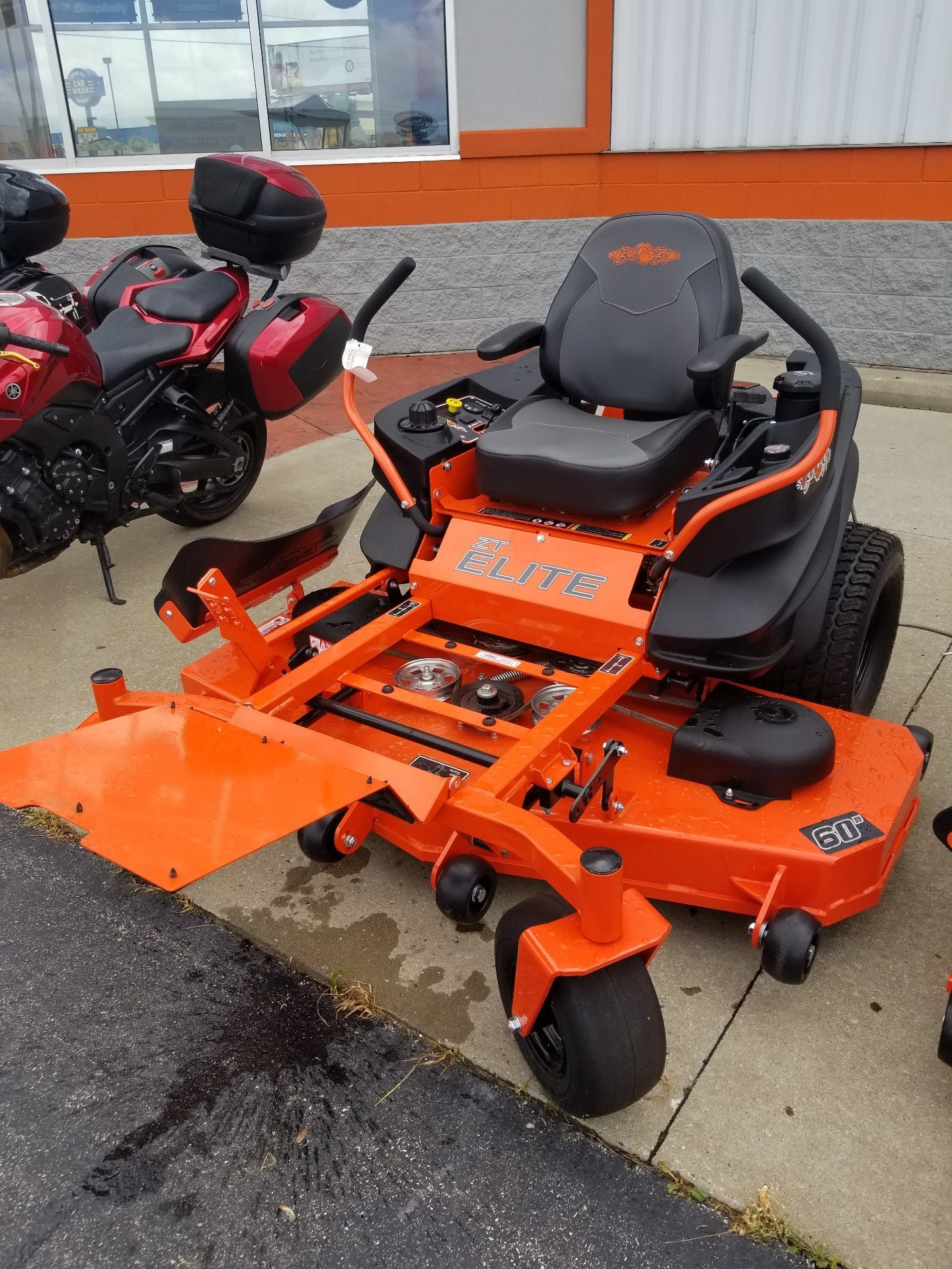2019 Bad Boy Mowers 6000 Kawasaki ZT Elite in Evansville, Indiana - Photo 7