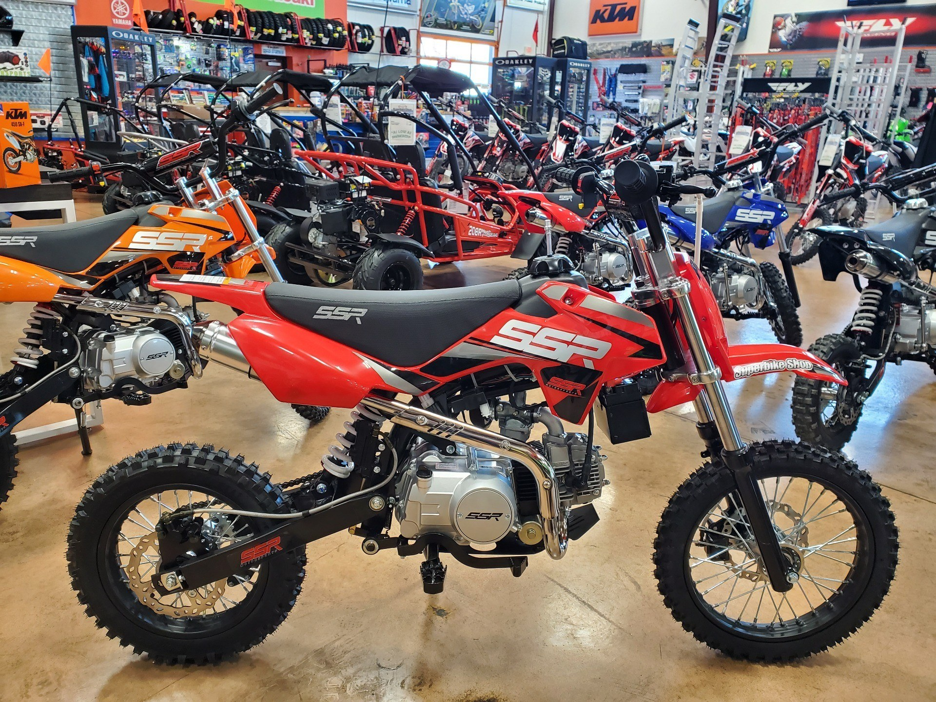 2021 SSR Motorsports SR125 Auto in Evansville, Indiana - Photo 1