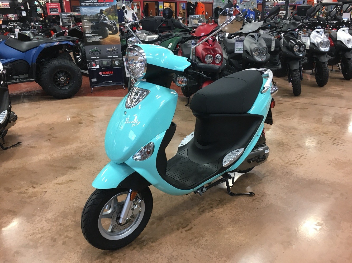 2019 Genuine Scooters Buddy 50 in Evansville, Indiana - Photo 4