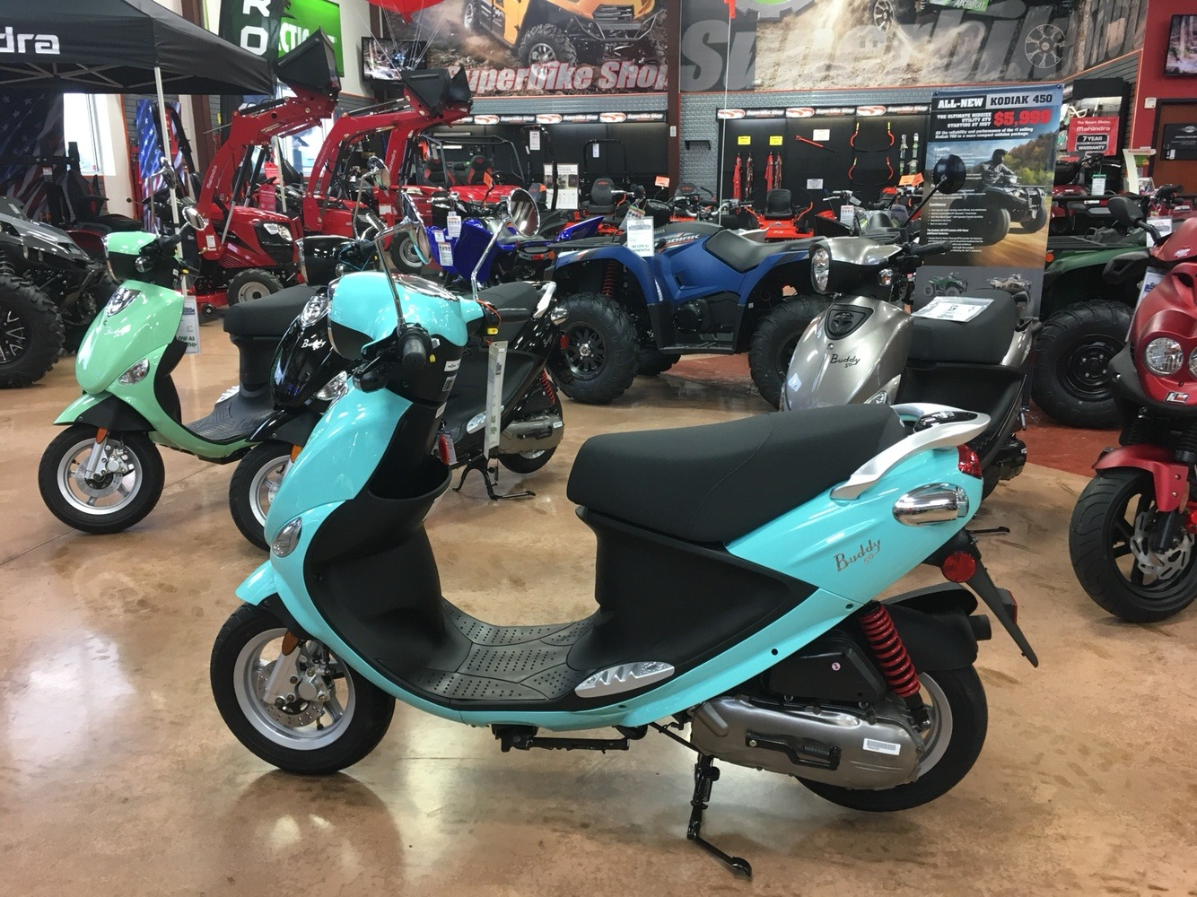 2019 Genuine Scooters Buddy 50 in Evansville, Indiana - Photo 5