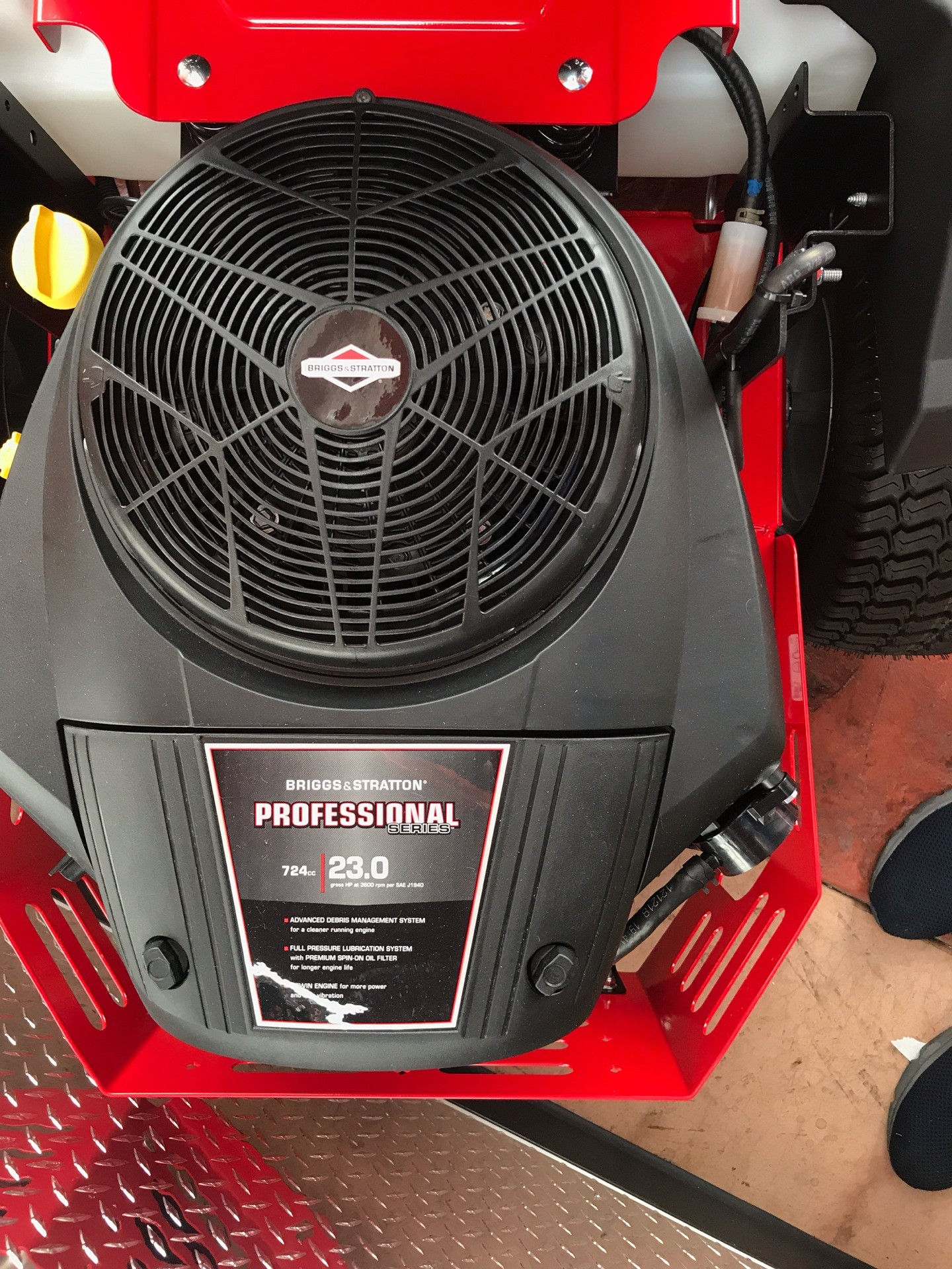 2019 Snapper 360Z 46 in. Briggs & Stratton 23 hp in Evansville, Indiana - Photo 3