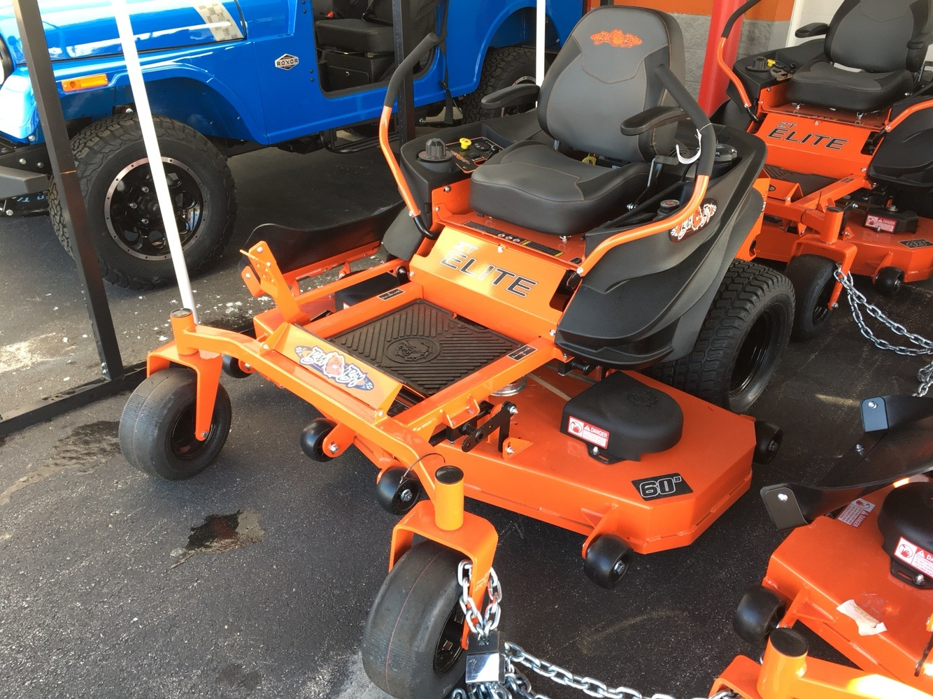 2019 Bad Boy Mowers 6000 Kohler ZT Elite in Evansville, Indiana - Photo 2