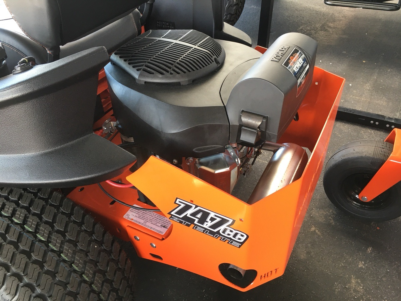 2019 Bad Boy Mowers 6000 Kohler ZT Elite in Evansville, Indiana - Photo 18