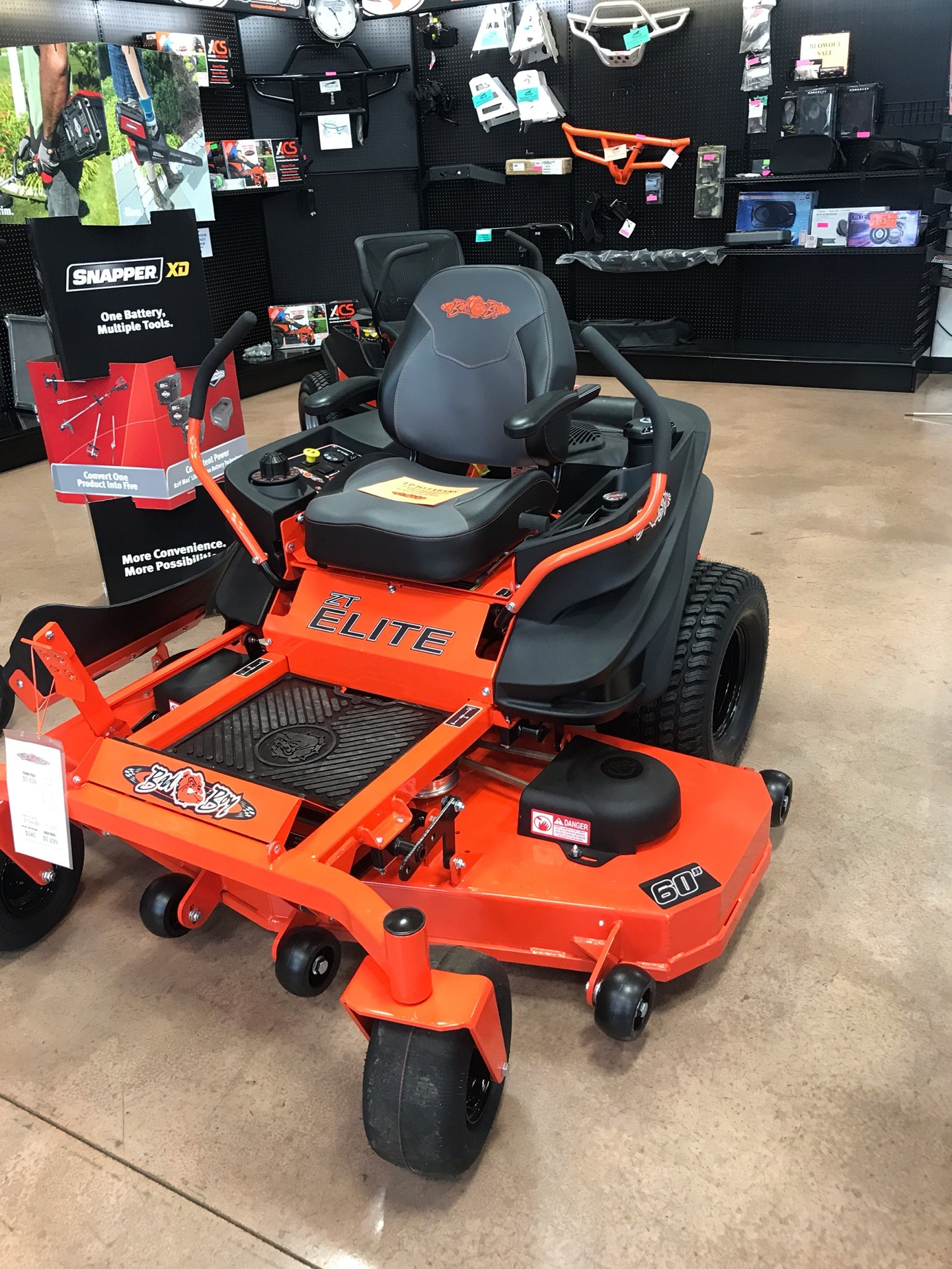 2019 Bad Boy Mowers 6000 Kohler ZT Elite in Evansville, Indiana - Photo 1
