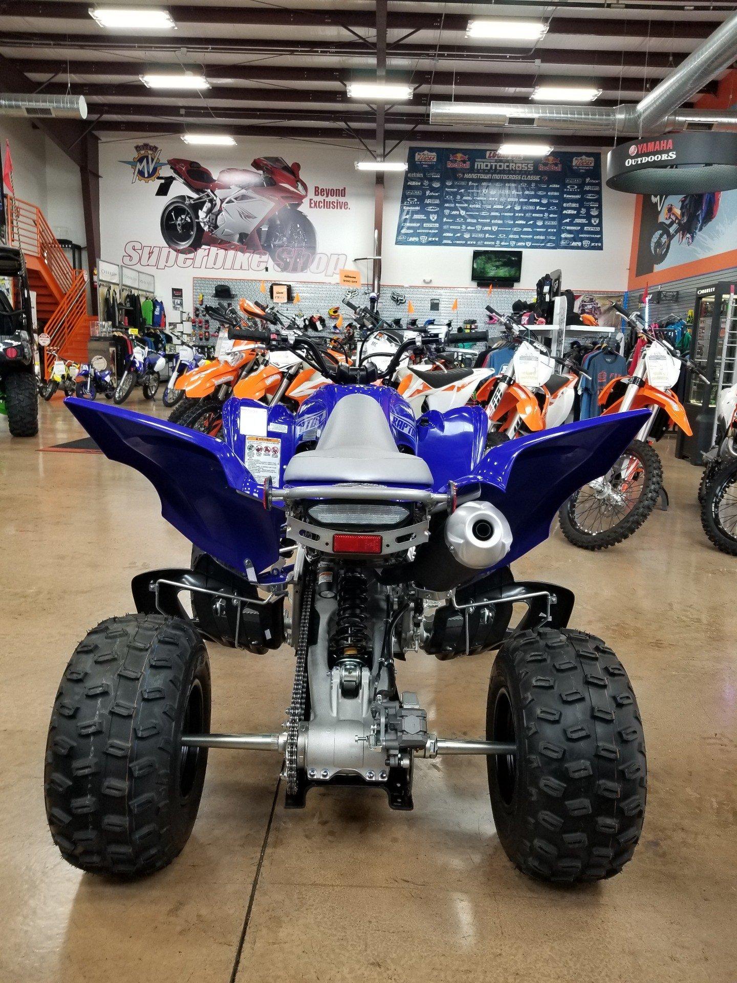 2020 Yamaha Raptor 700R 6