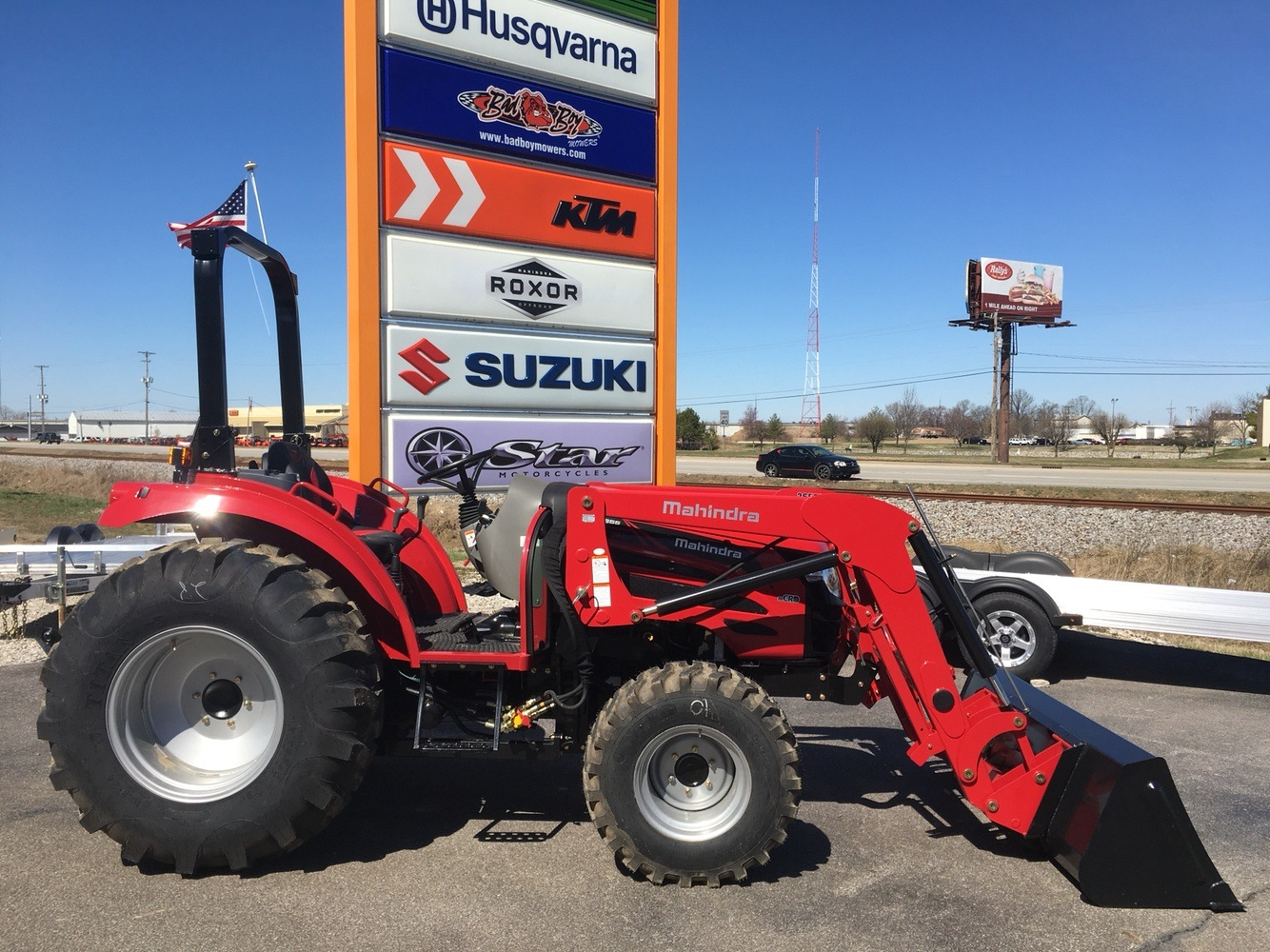 2019 Mahindra 2655 HST OS in Evansville, Indiana - Photo 2
