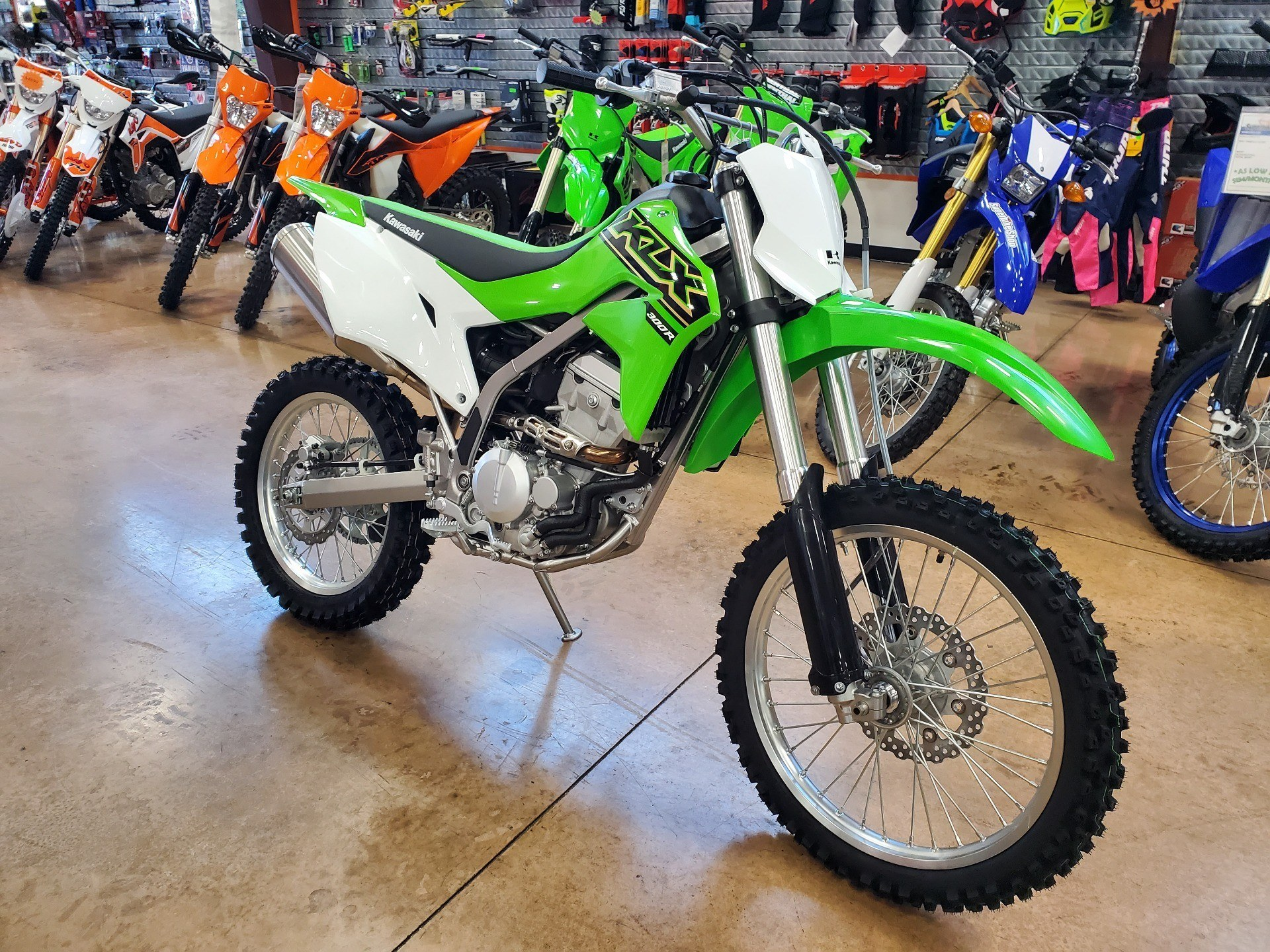 2021 Kawasaki KLX 300R in Evansville, Indiana - Photo 2