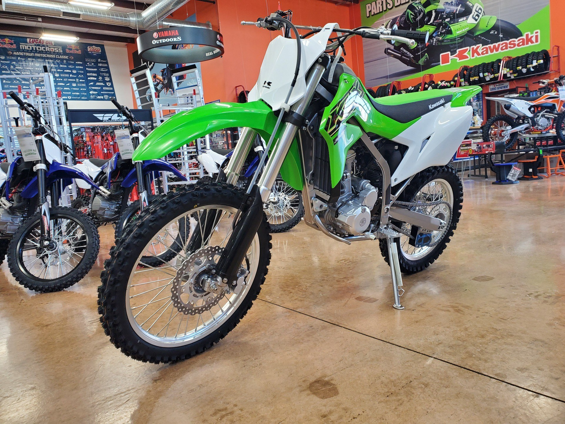 2021 Kawasaki KLX 300R in Evansville, Indiana - Photo 3