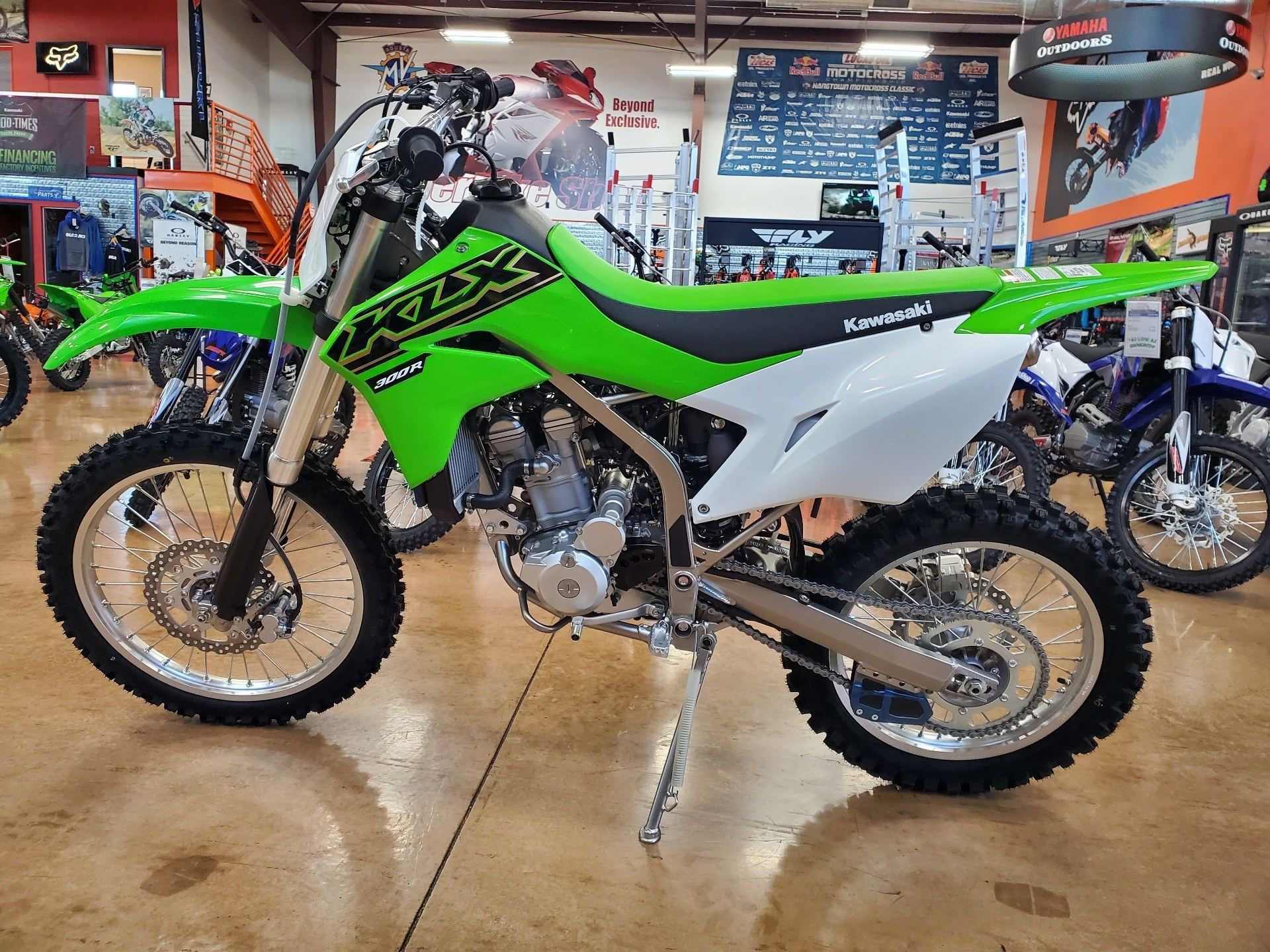 2021 Kawasaki KLX 300R in Evansville, Indiana - Photo 4