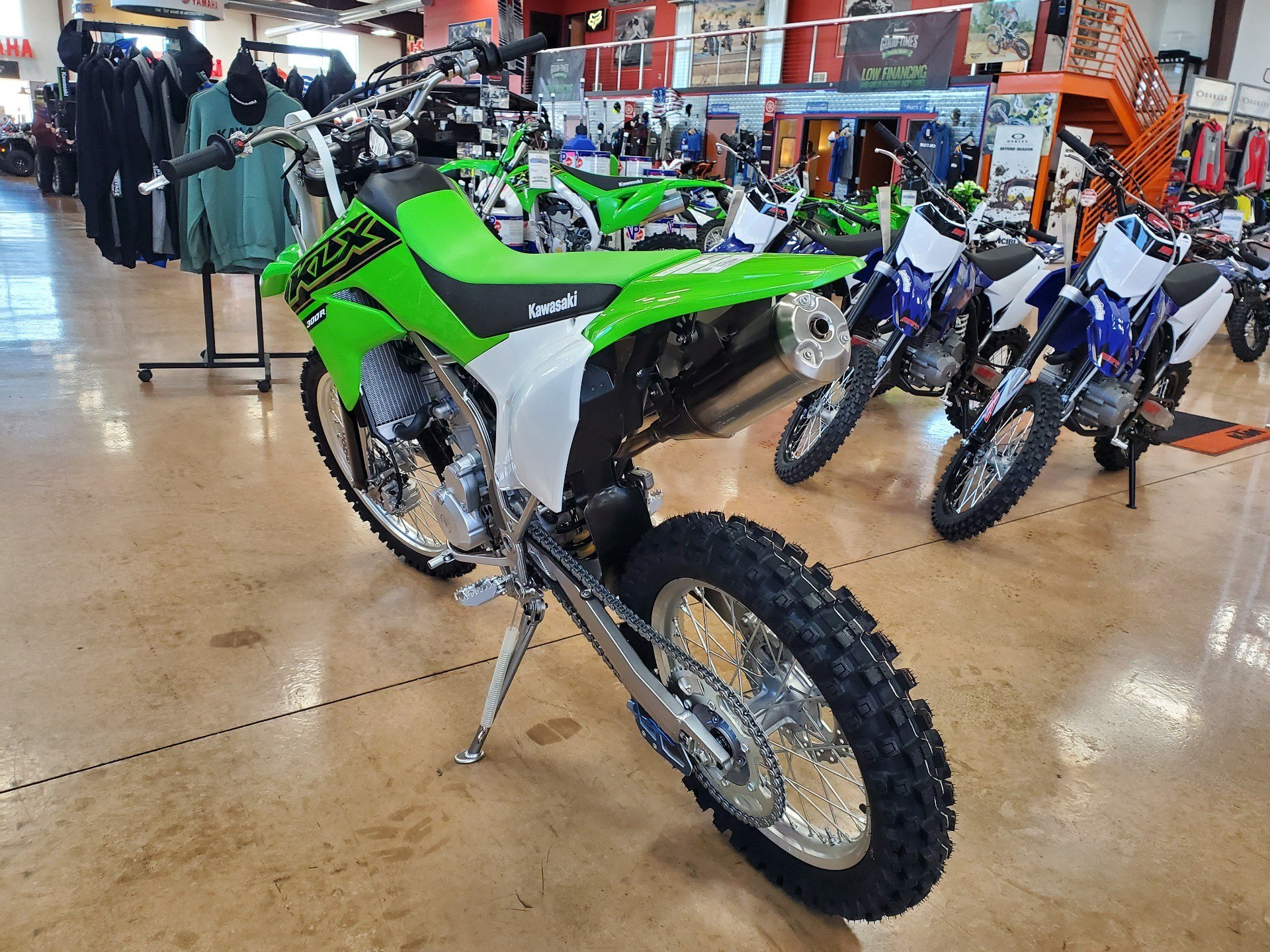 2021 Kawasaki KLX 300R in Evansville, Indiana - Photo 5