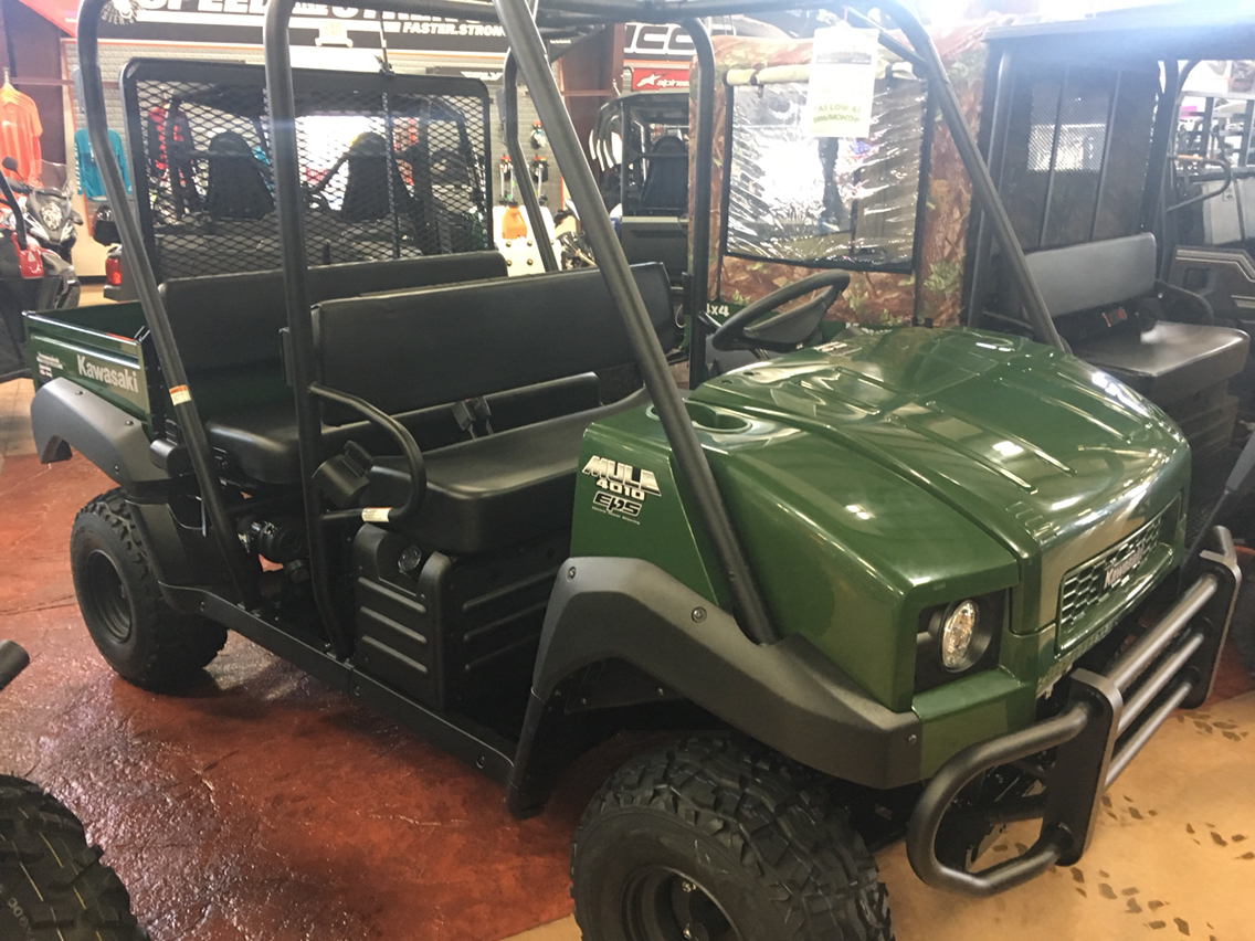 2020 Kawasaki Mule 4010 Trans4x4 in Evansville, Indiana - Photo 3