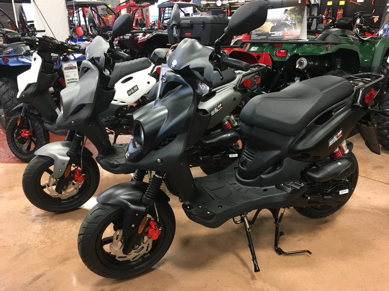 2019 Genuine Scooters Roughhouse 50 Sport in Evansville, Indiana - Photo 1