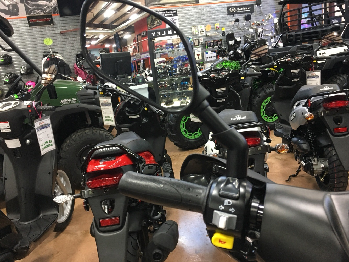 2019 Genuine Scooters Roughhouse 50 Sport in Evansville, Indiana - Photo 14
