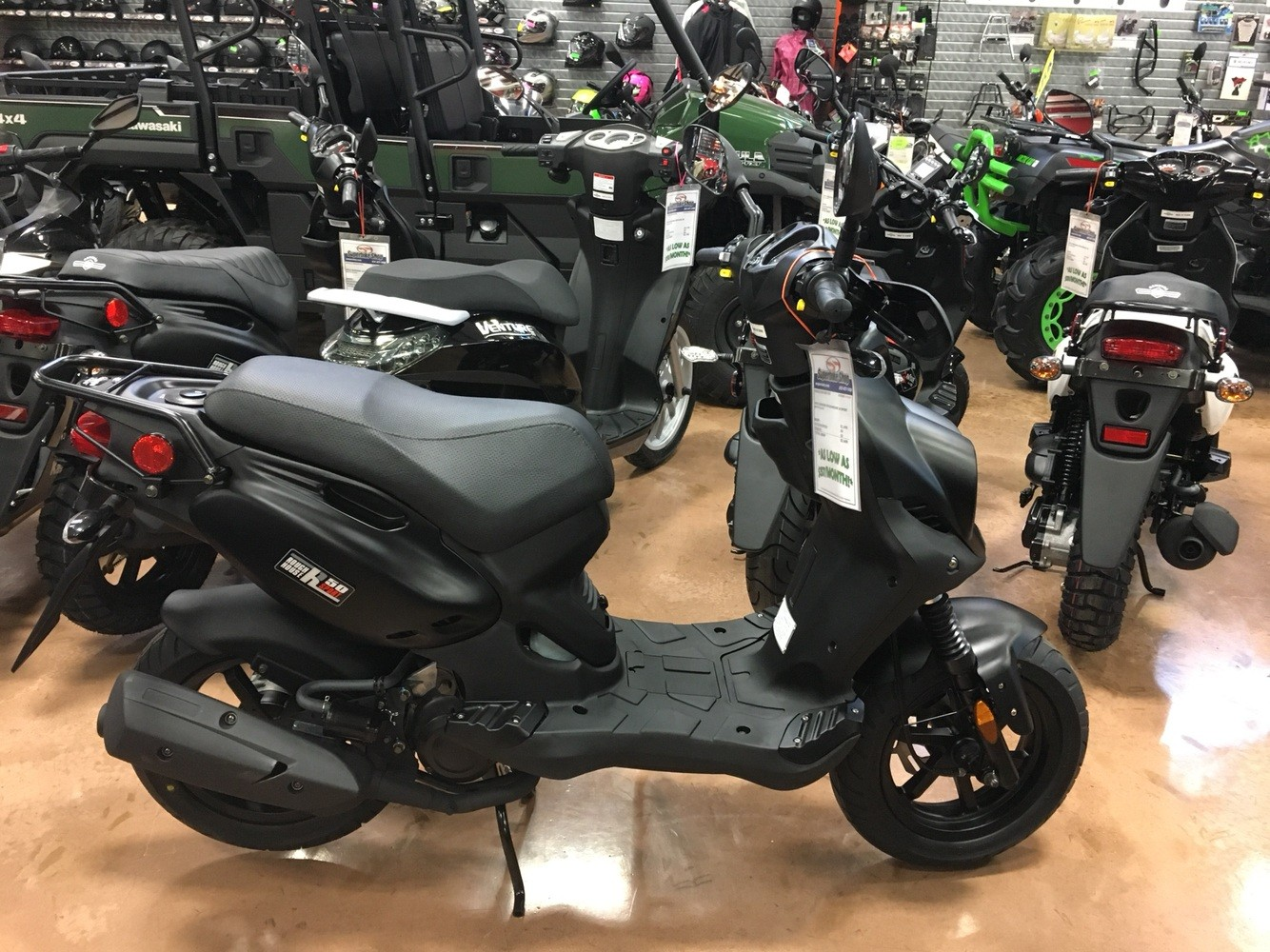 2019 Genuine Scooters Roughhouse 50 Sport in Evansville, Indiana - Photo 5