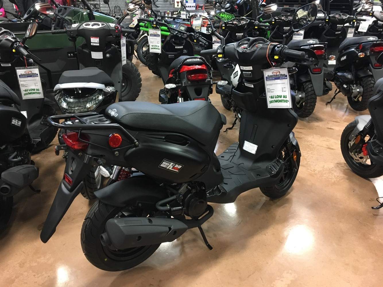 2019 Genuine Scooters Roughhouse 50 Sport in Evansville, Indiana - Photo 6