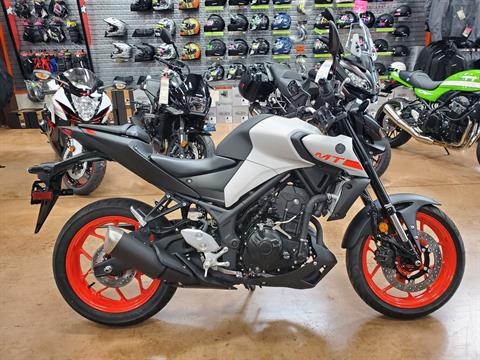 2020 Yamaha MT-03 in Evansville, Indiana - Photo 1