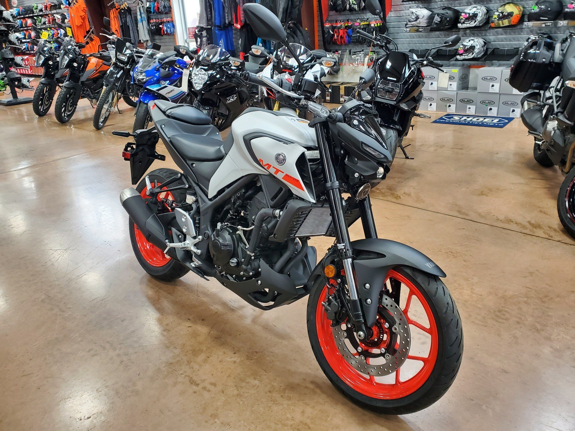 2020 Yamaha MT-03 in Evansville, Indiana - Photo 2