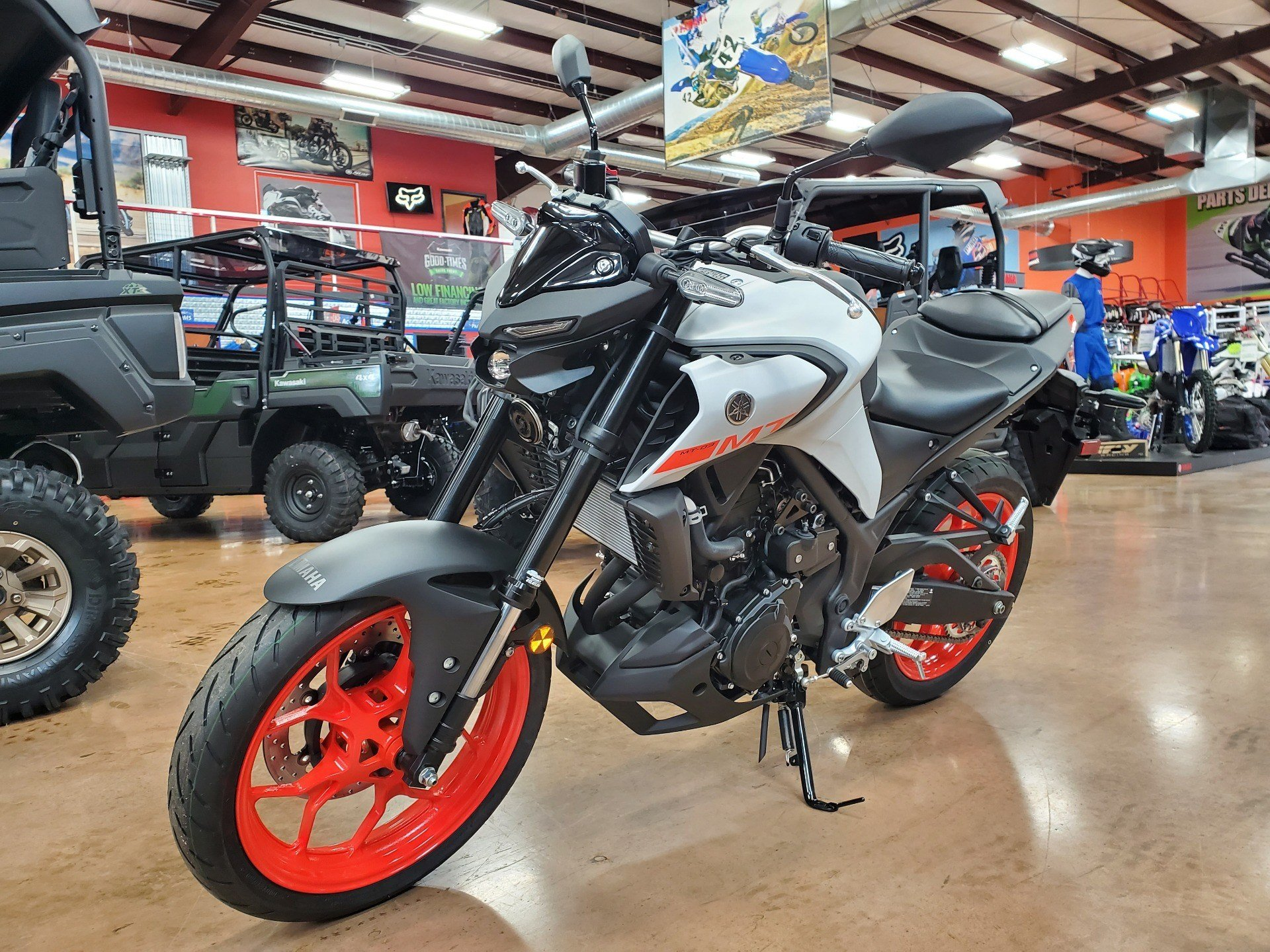2020 Yamaha MT-03 in Evansville, Indiana - Photo 3
