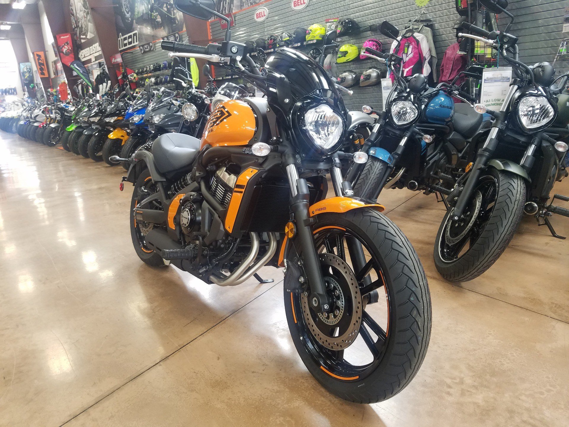 2019 Kawasaki Vulcan S ABS Café in Evansville, Indiana - Photo 4