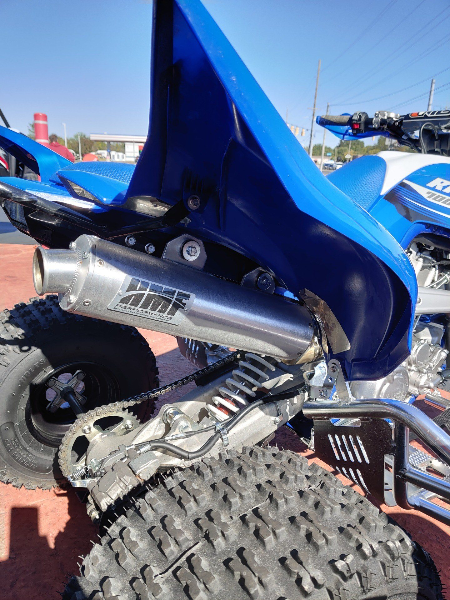 2018 Yamaha Raptor 700R 4