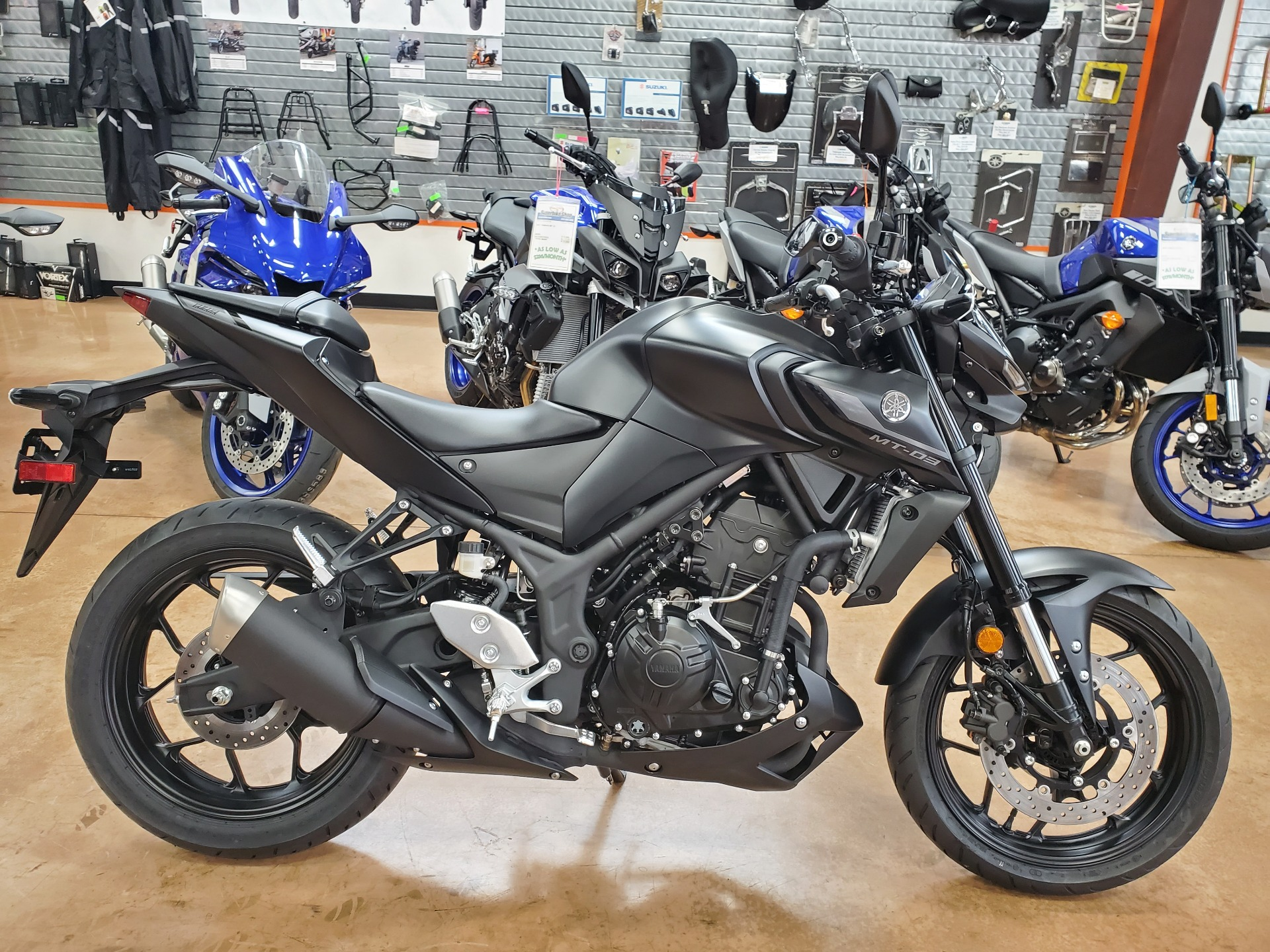 2021 Yamaha MT-03 in Evansville, Indiana - Photo 1