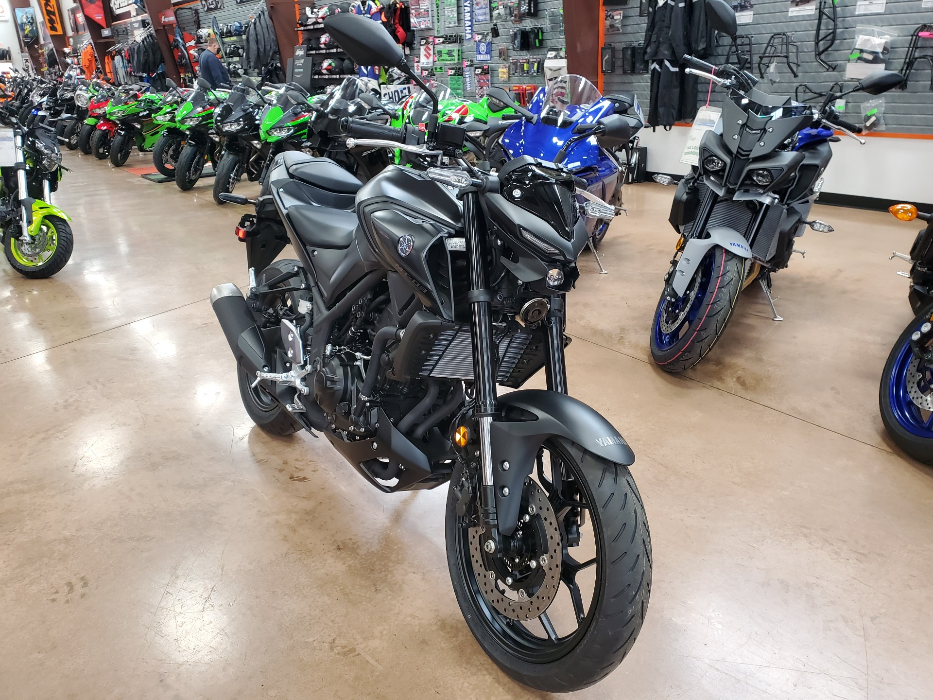 2021 Yamaha MT-03 in Evansville, Indiana - Photo 2