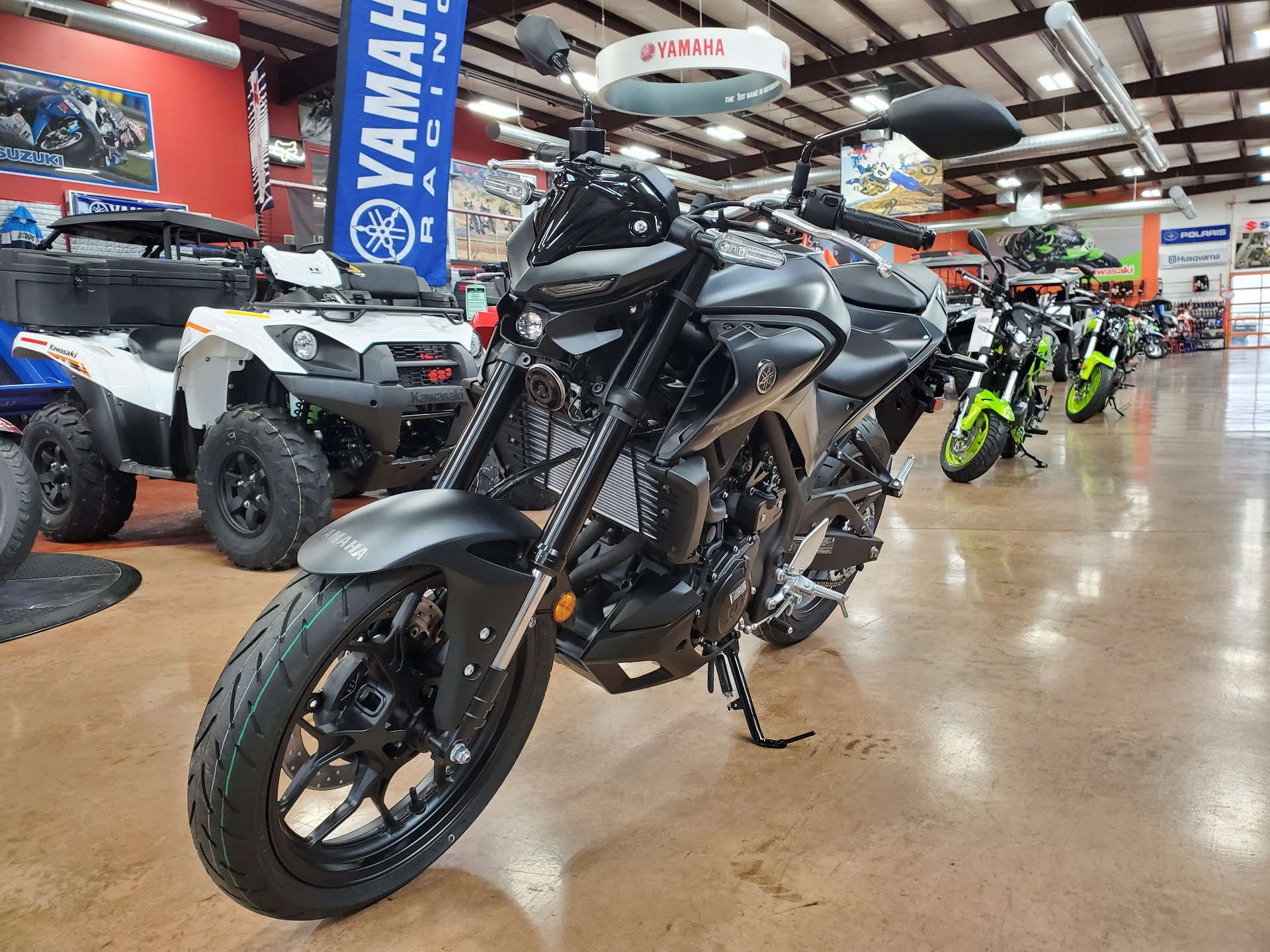 2021 Yamaha MT-03 in Evansville, Indiana - Photo 3