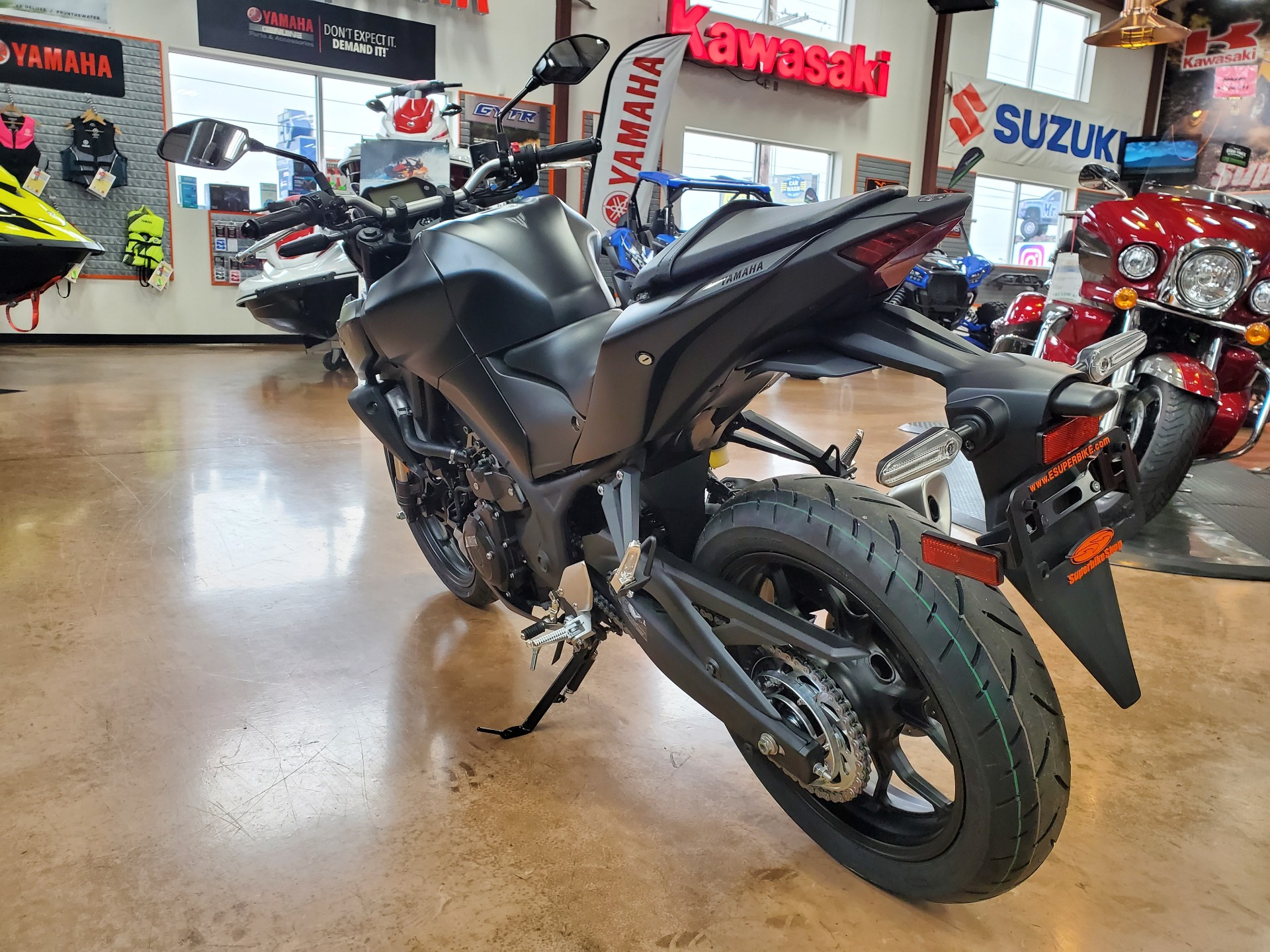 2021 Yamaha MT-03 in Evansville, Indiana - Photo 5