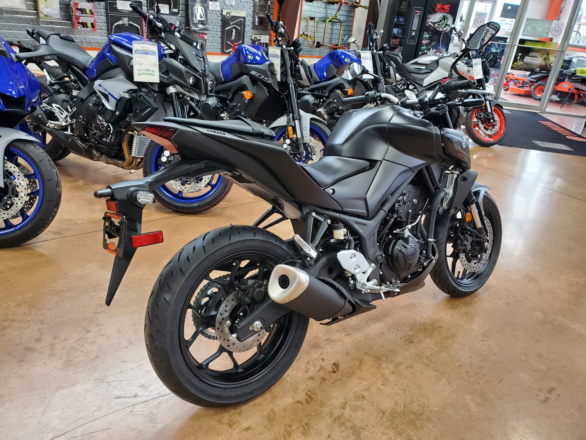 2021 Yamaha MT-03 in Evansville, Indiana - Photo 6