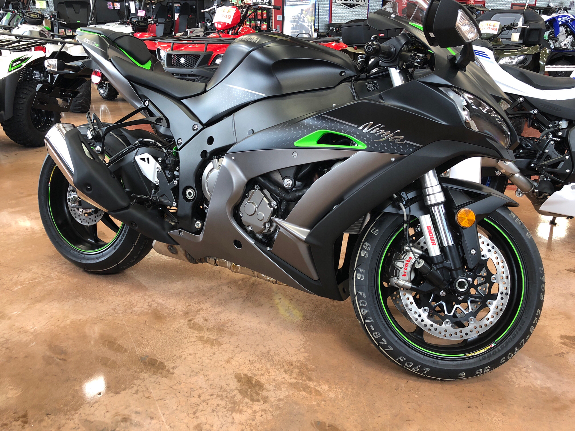 2018 Kawasaki Ninja ZX-10R SE in Evansville, Indiana - Photo 1