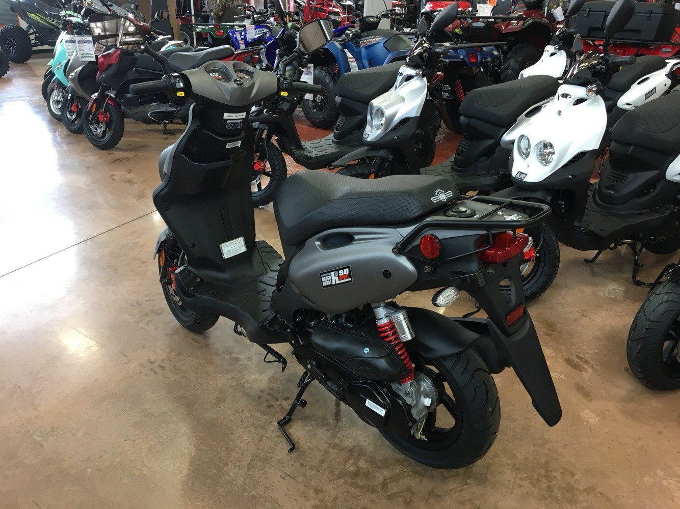 2019 Genuine Scooters Roughhouse 50 Sport in Evansville, Indiana - Photo 3