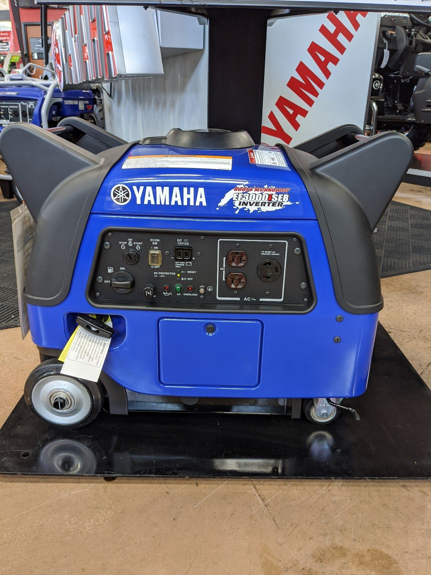 Yamaha EF3000iSEB Generator in Evansville, Indiana - Photo 1