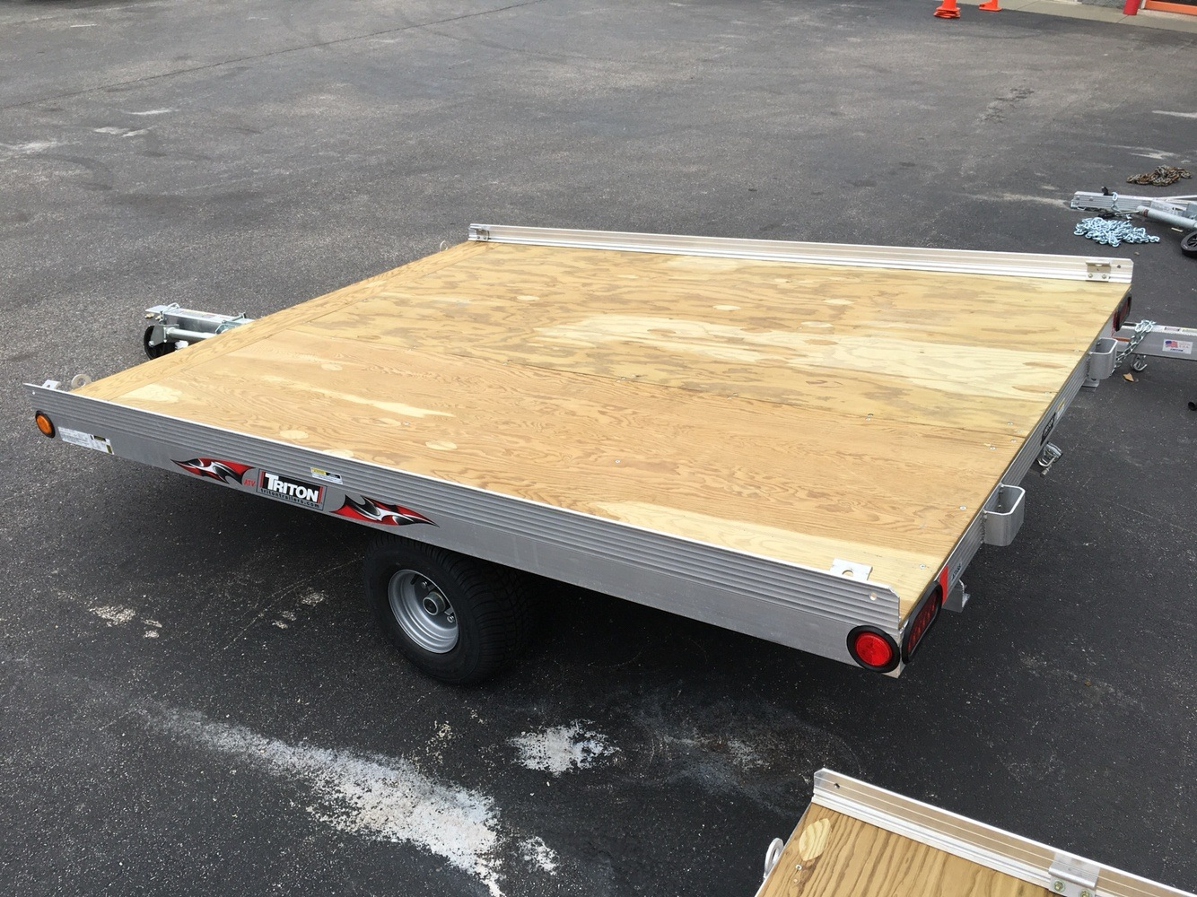 2019 Triton Trailers ATV88 in Evansville, Indiana - Photo 3