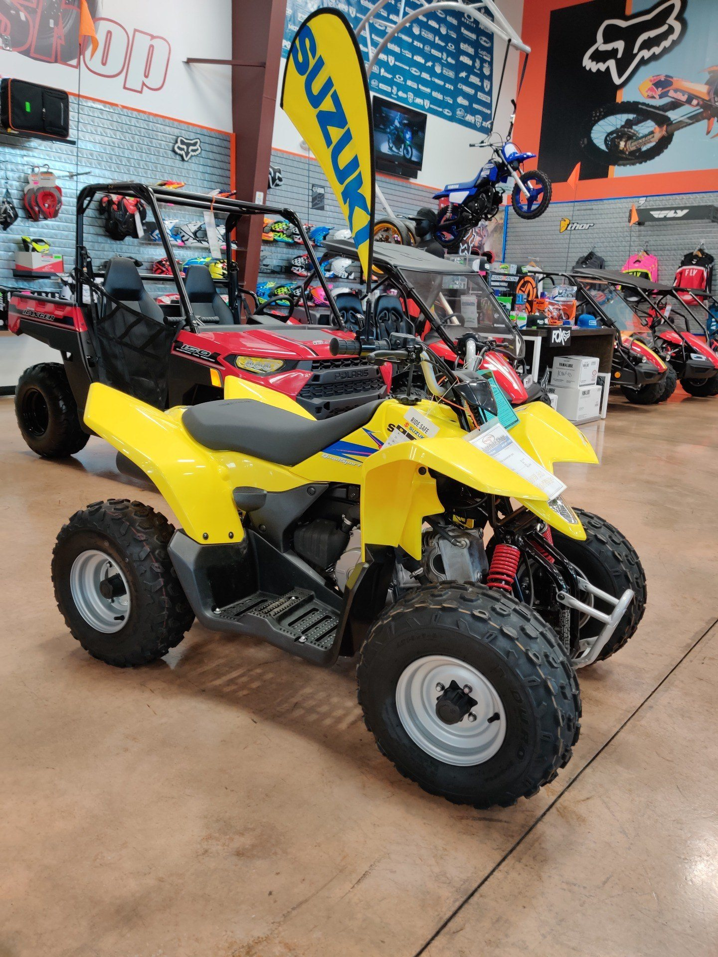 2019 Suzuki QuadSport Z90 in Evansville, Indiana - Photo 4
