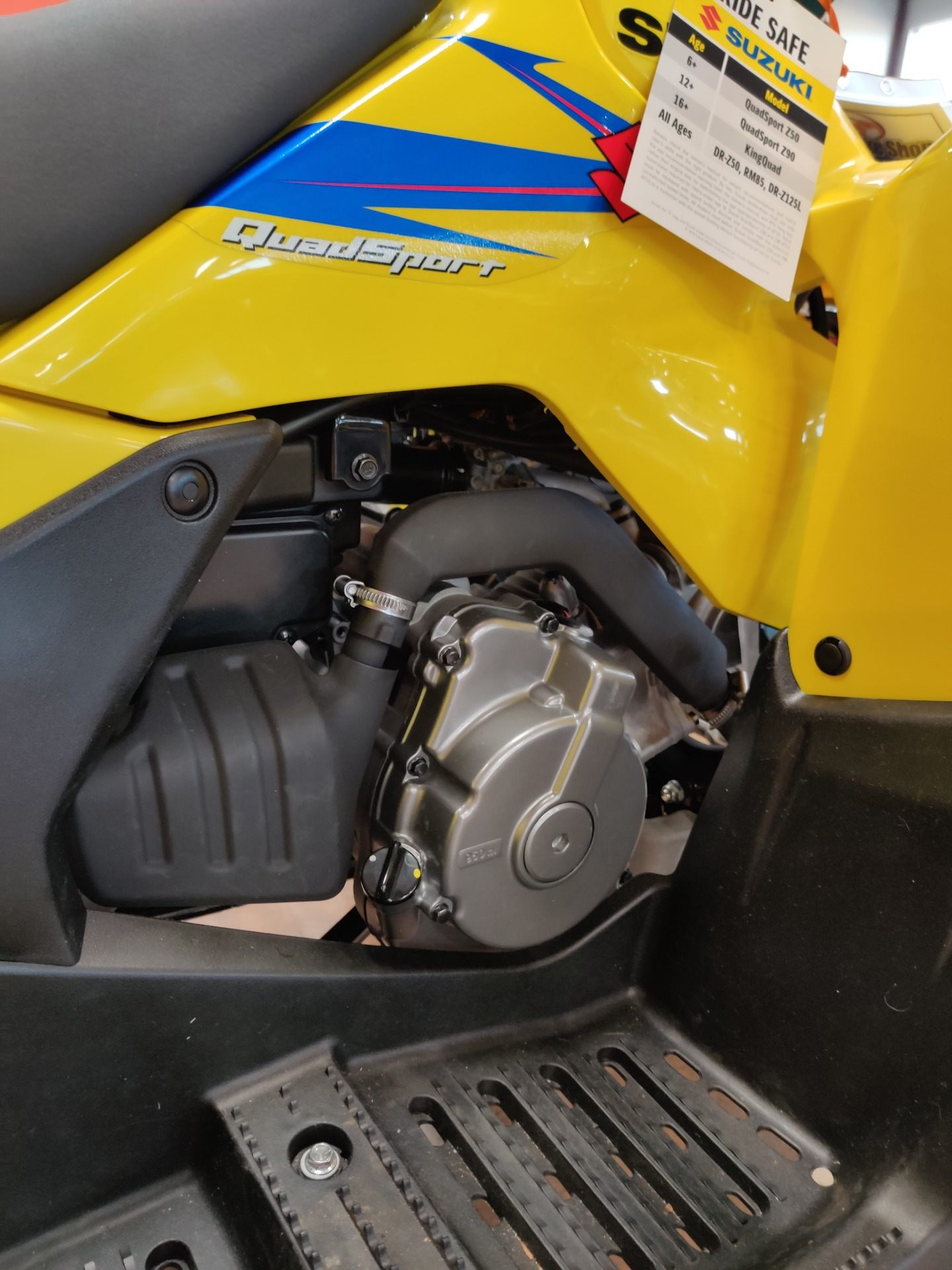 2019 Suzuki QuadSport Z90 in Evansville, Indiana - Photo 7