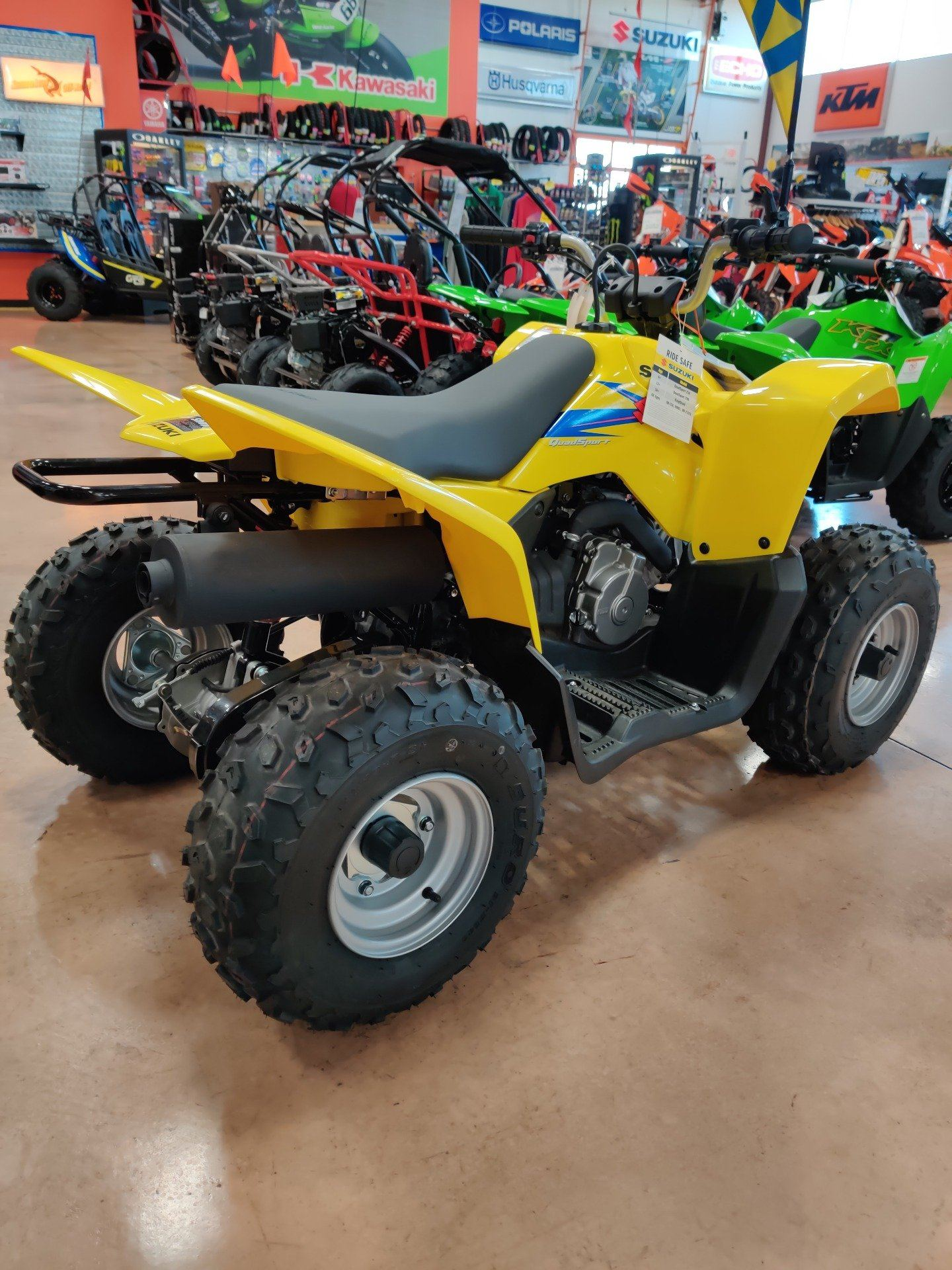 2019 Suzuki QuadSport Z90 in Evansville, Indiana - Photo 8