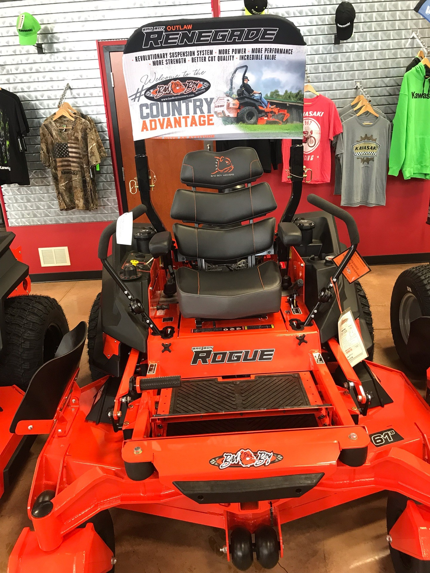 2019 Bad Boy Mowers Rogue 61 in. Vanguard EFI 993 cc in Evansville, Indiana - Photo 2