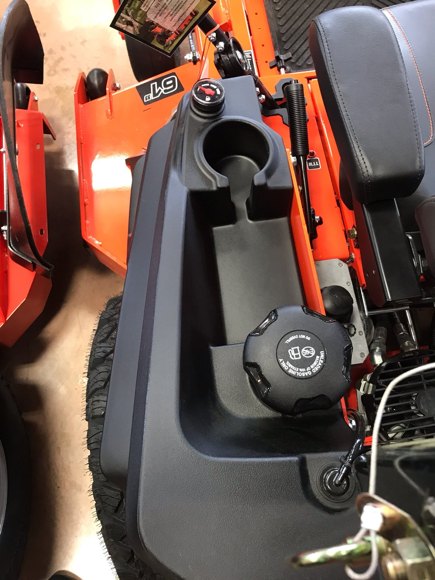 2019 Bad Boy Mowers Rogue 61 in. Vanguard EFI 993 cc in Evansville, Indiana - Photo 9