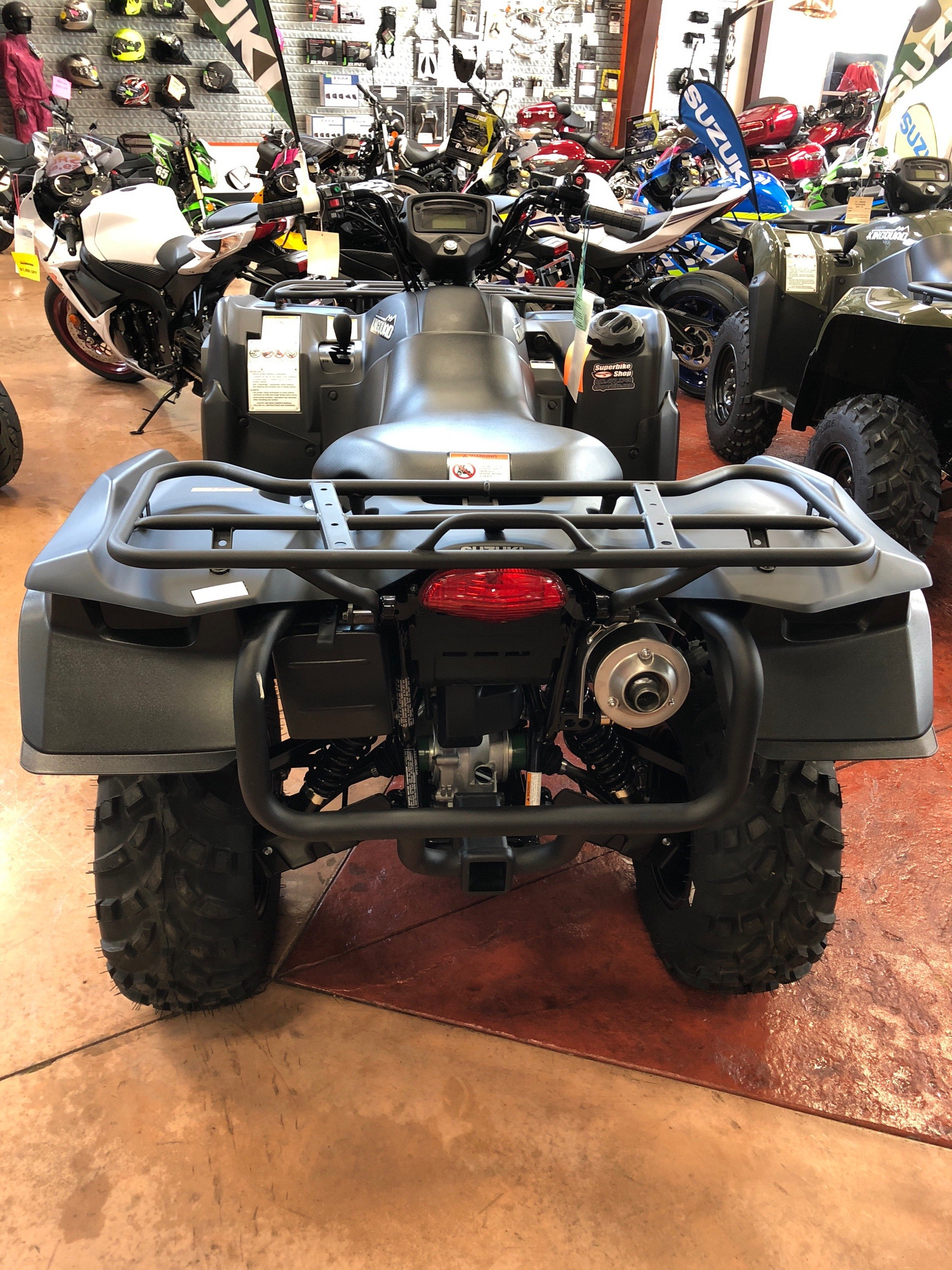 2017 Suzuki KingQuad 500AXi Power Steering Special Edition in Evansville, Indiana