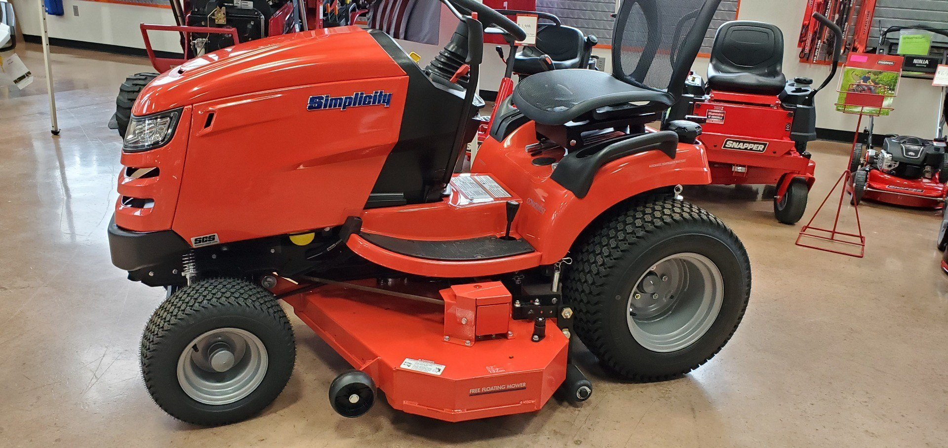 2019 Simplicity Conquest 52 in. Briggs & Stratton 25 hp in Evansville, Indiana - Photo 1