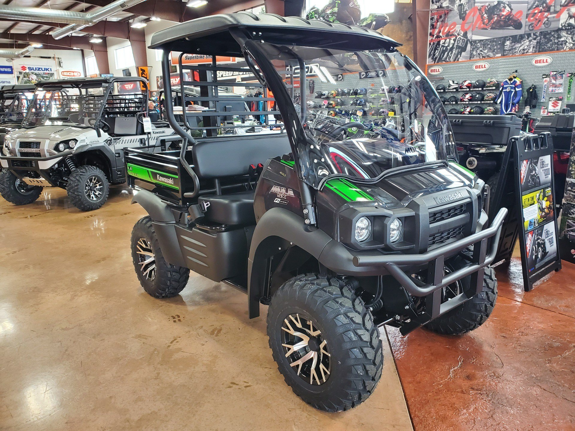 2021 Kawasaki Mule SX 4x4 XC LE FI in Evansville, Indiana - Photo 3