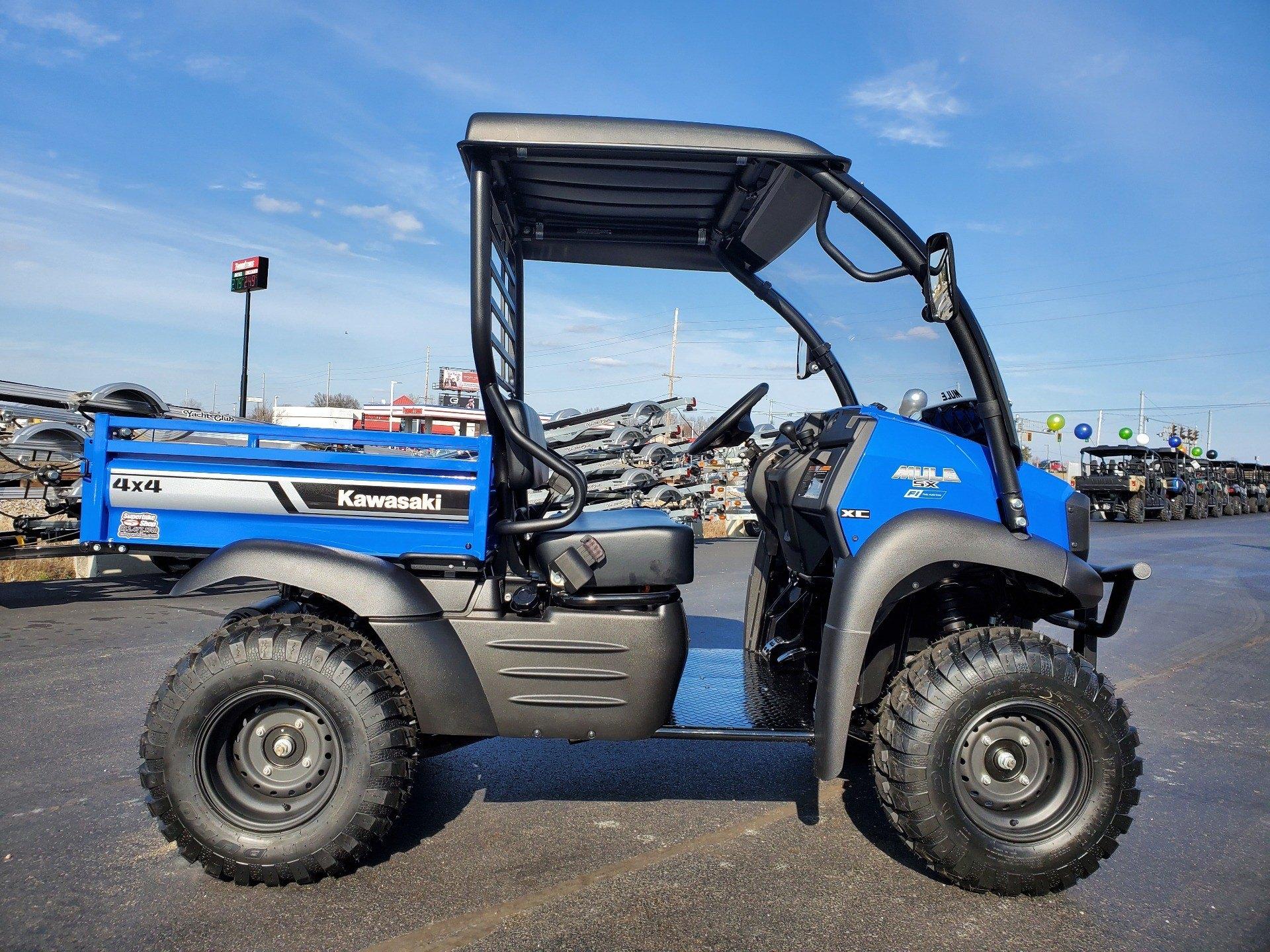 2020 Kawasaki Mule SX 4X4 XC FI 1