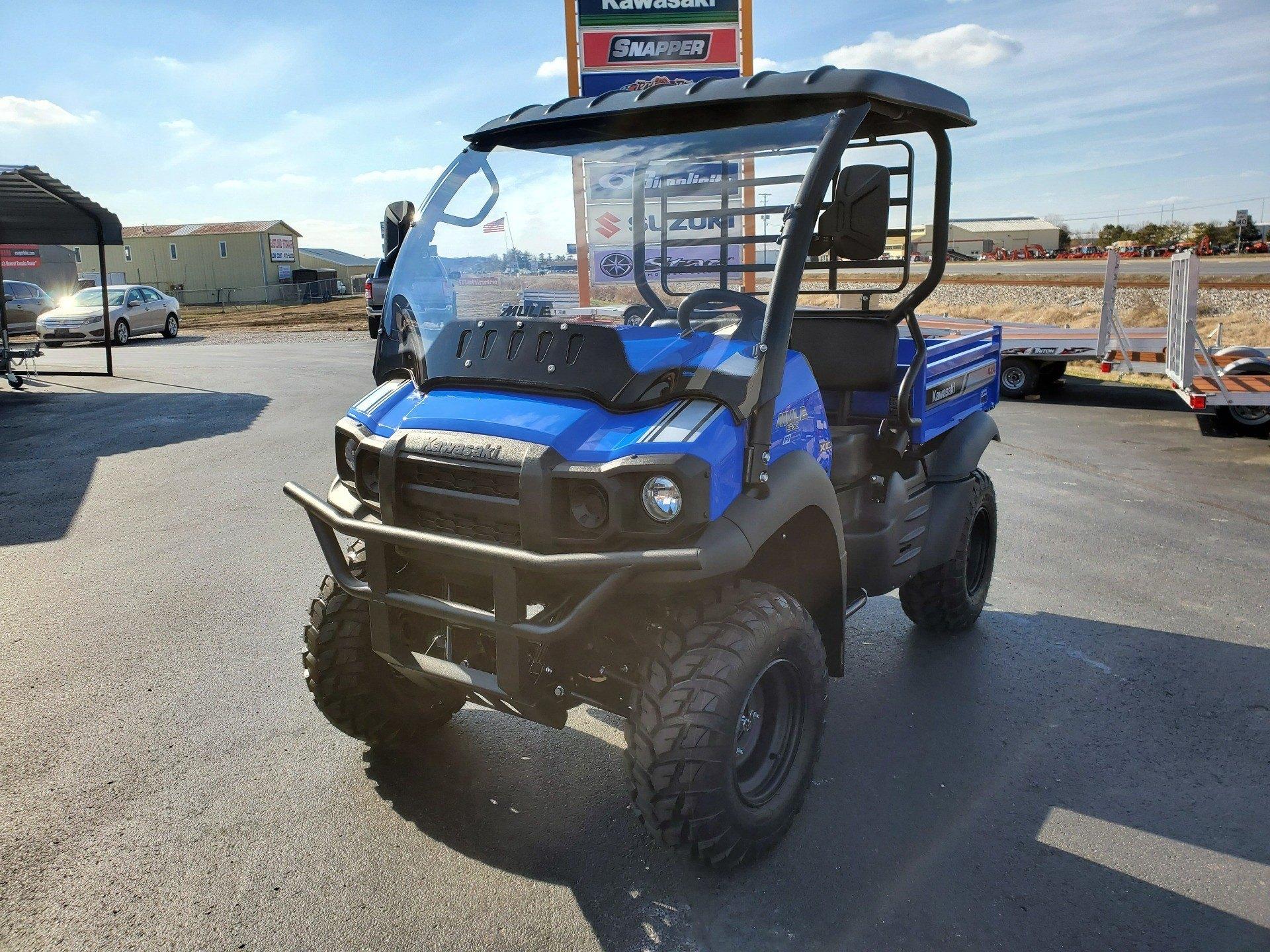 2020 Kawasaki Mule SX 4X4 XC FI 4