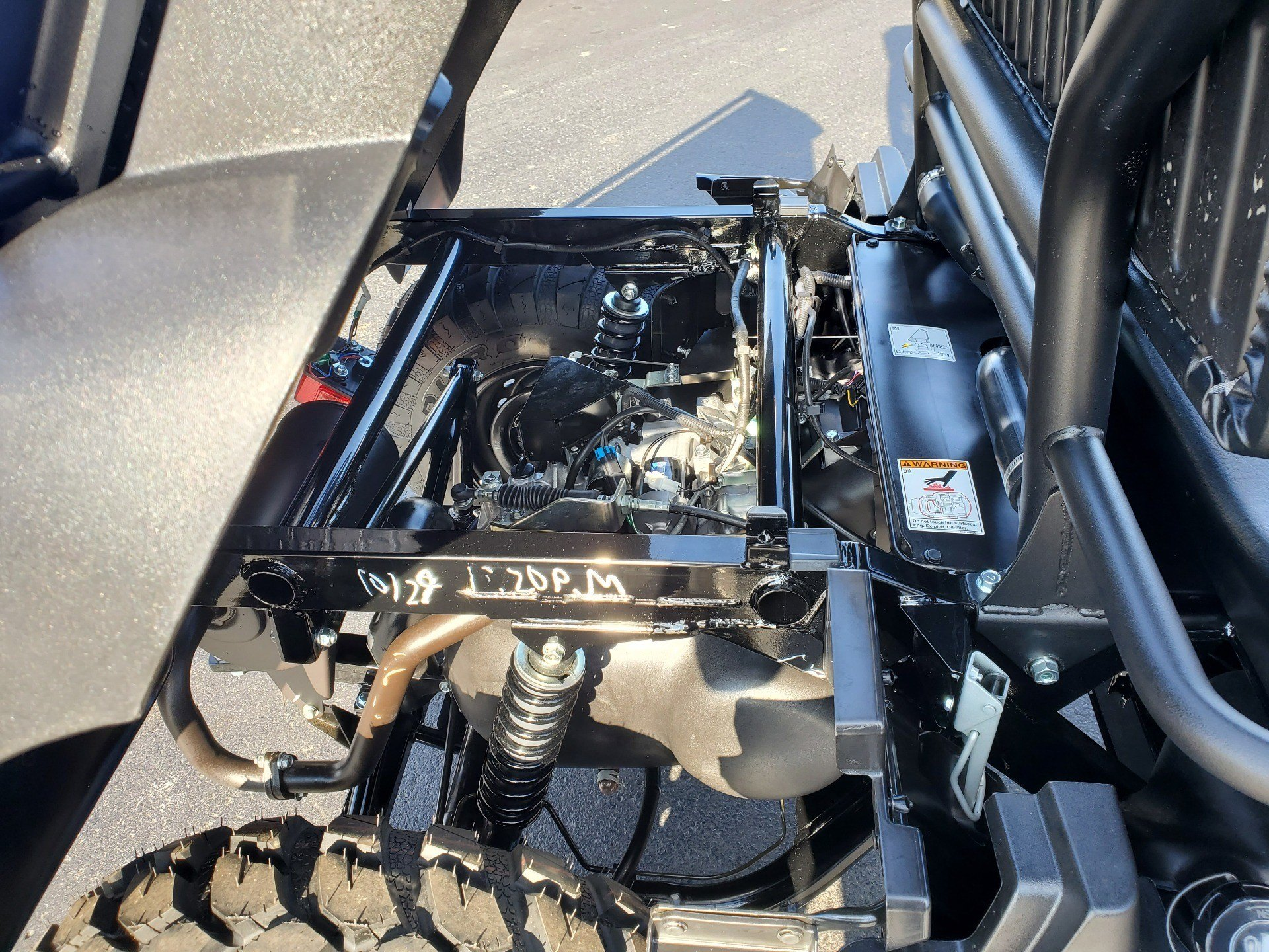 2020 Kawasaki Mule SX 4X4 XC FI 9