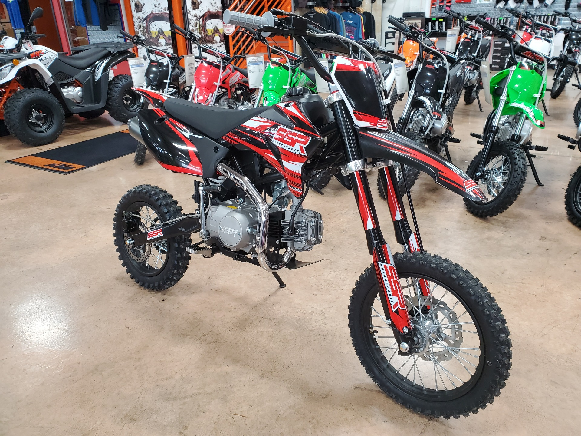2021 SSR Motorsports SR125TR in Evansville, Indiana - Photo 2
