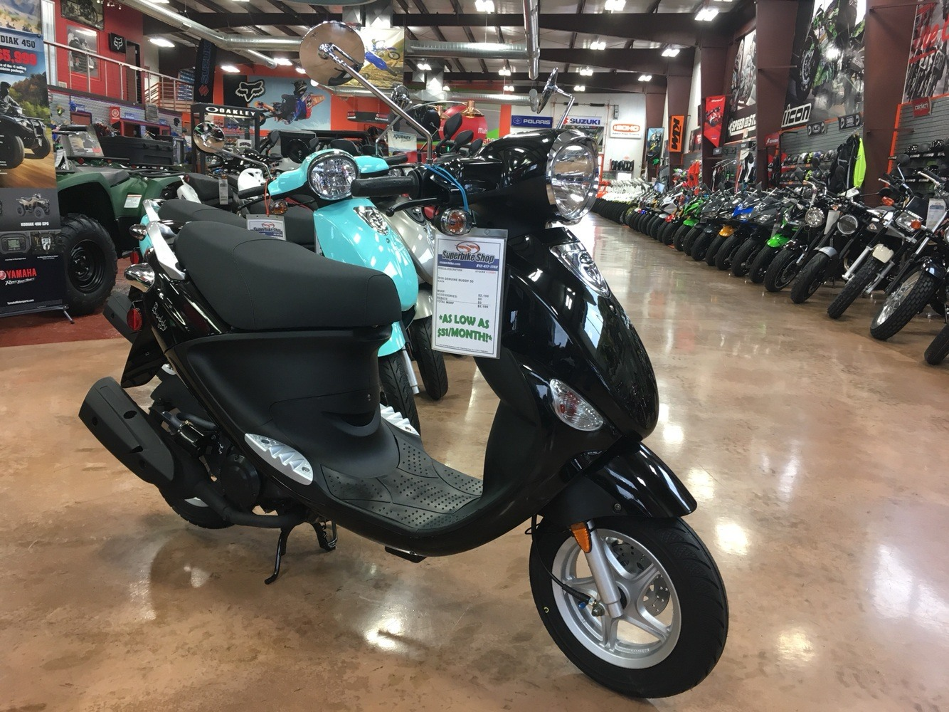2019 Genuine Scooters Buddy 50 in Evansville, Indiana - Photo 2